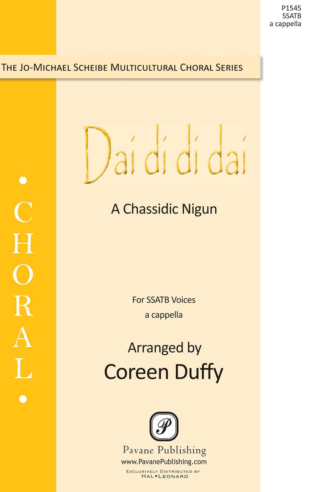 Dai Di Di Dai: Mixed Choir a Cappella: Vocal Score