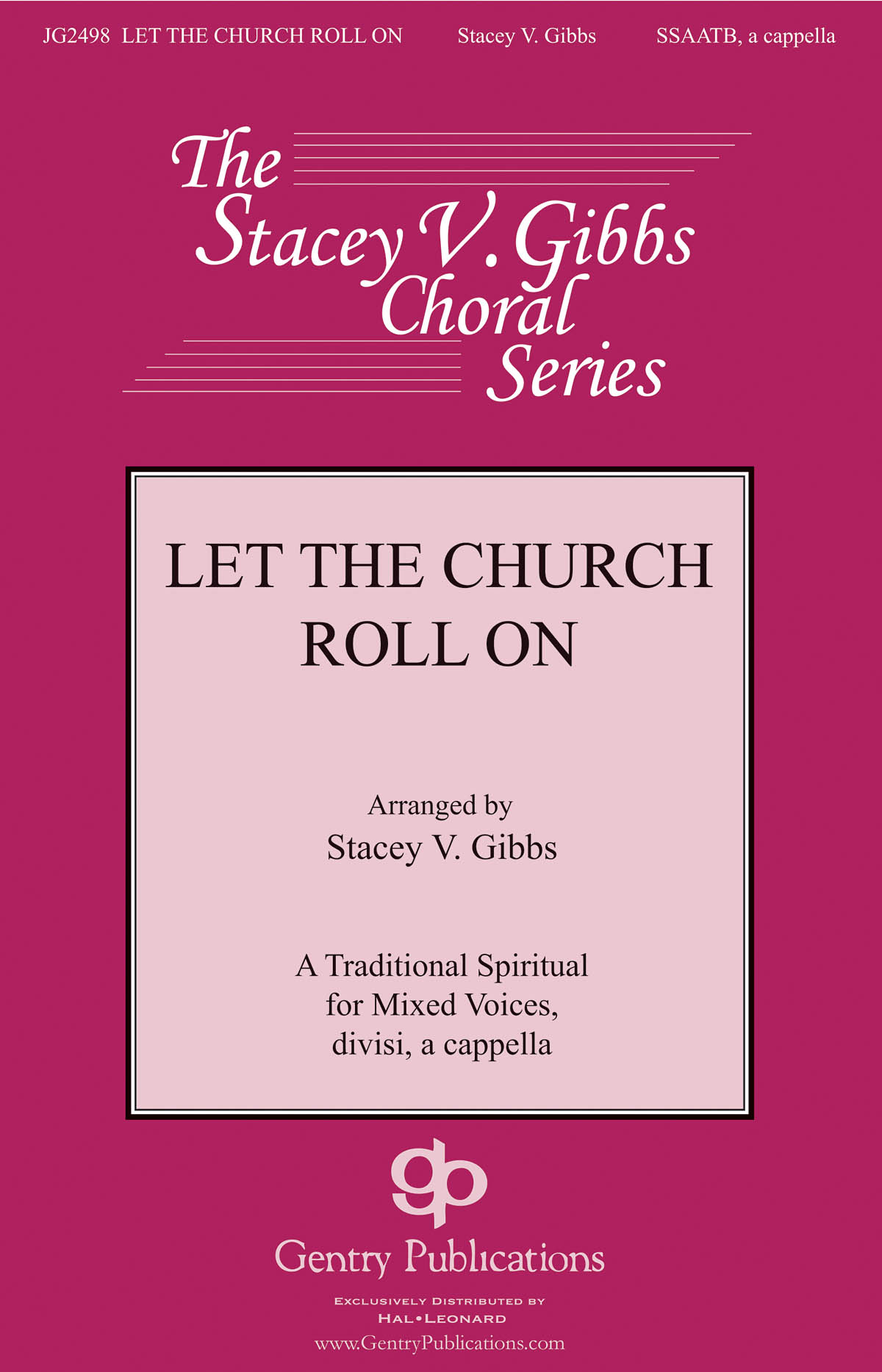 Let the Church Roll On: Mixed Choir a Cappella: Vocal Score