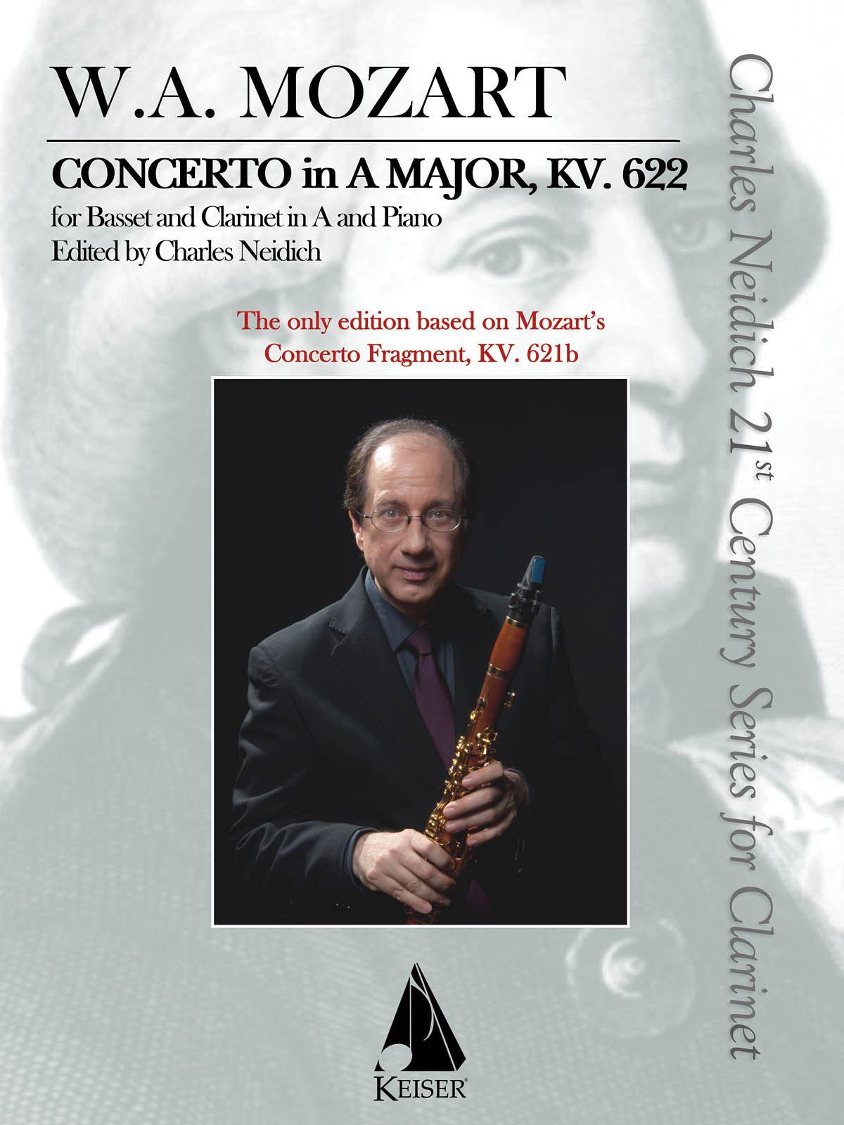 Wolfgang Amadeus Mozart: Clarinet Concerto  K. 622: Clarinet and Accomp.: Score