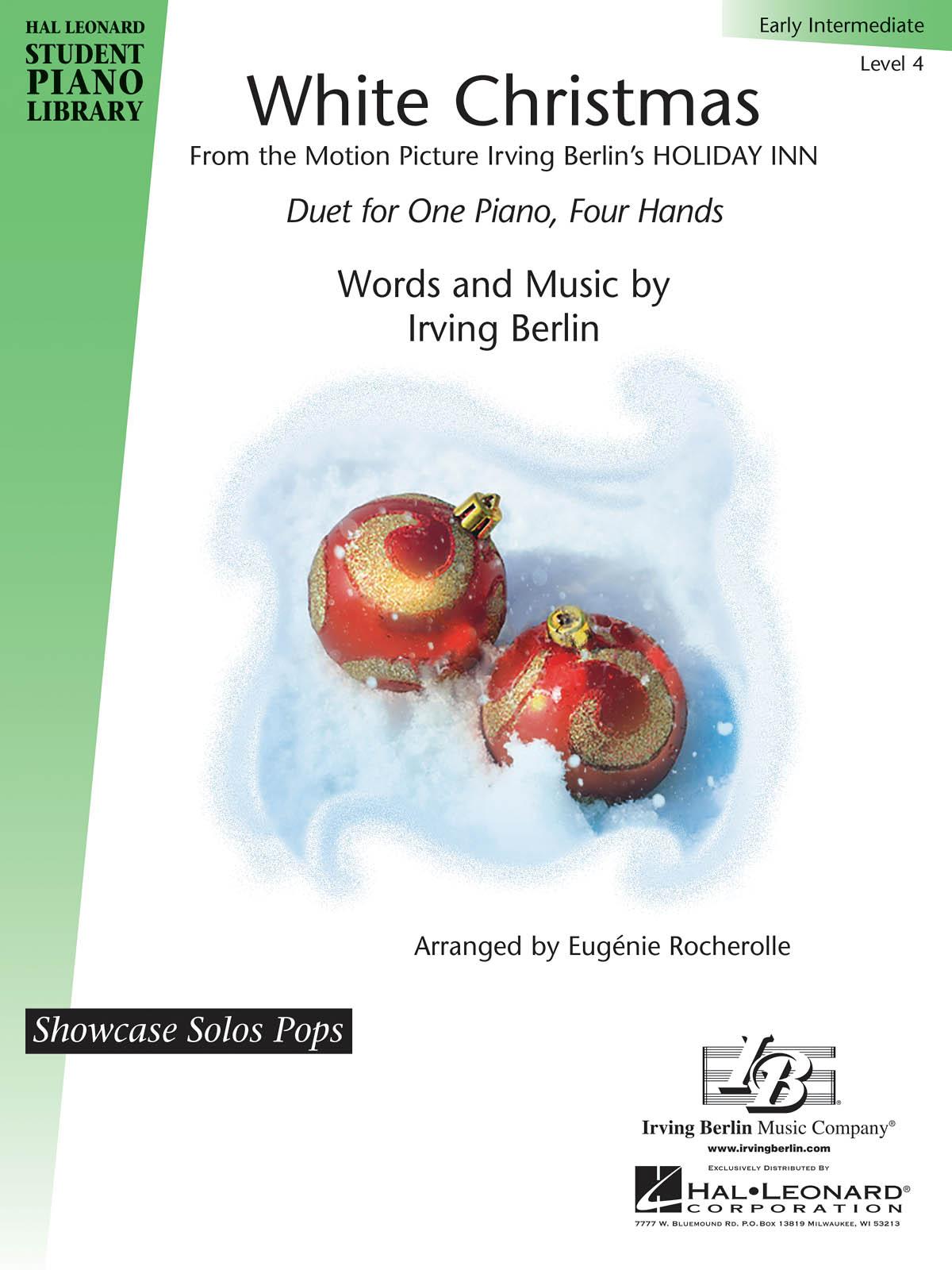 Irving Berlin: White Christmas: Piano 4 Hands: Instrumental Work