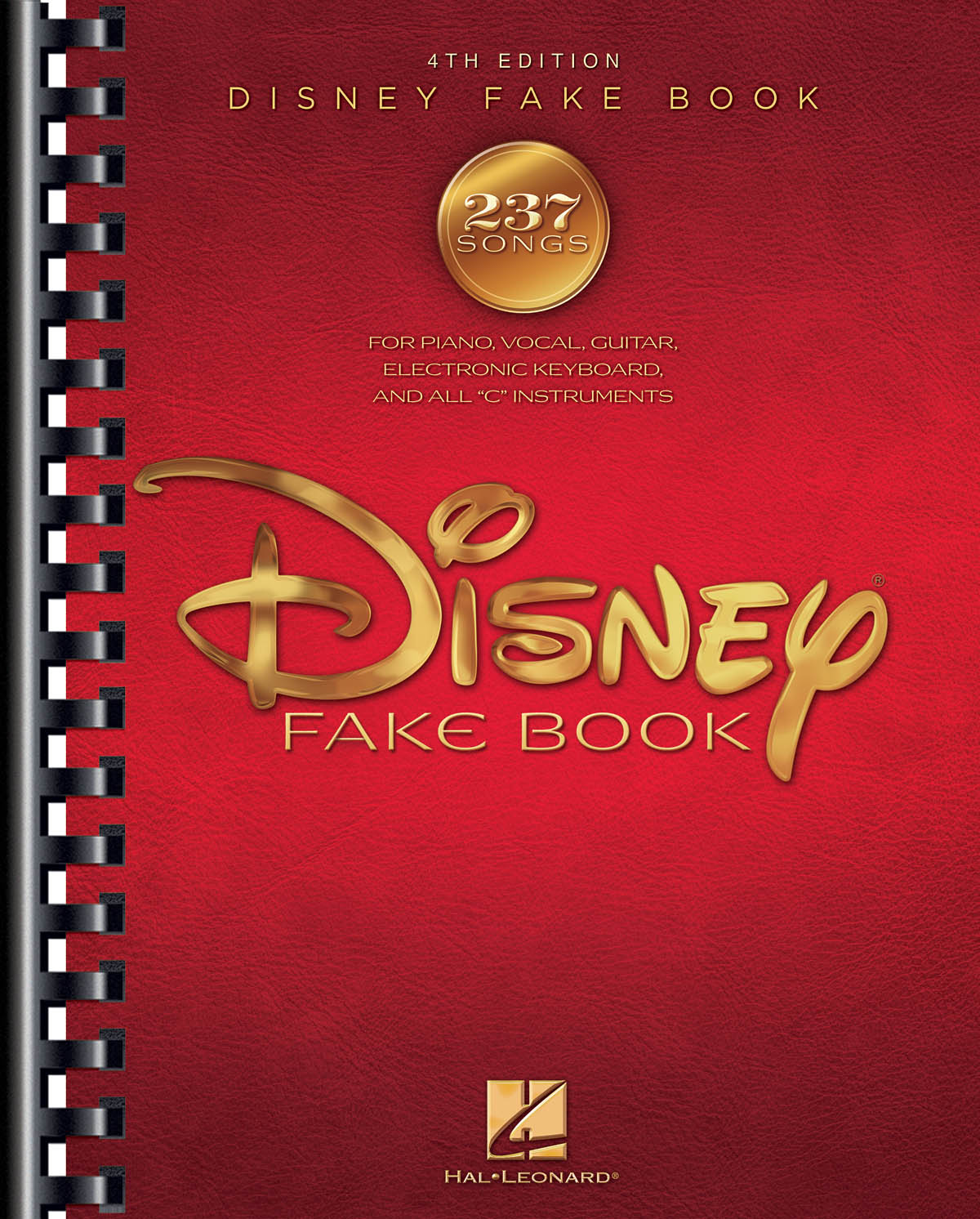 The Disney Fake Book - 4th Edition: Piano  Vocal and Guitar: Mixed Songbook