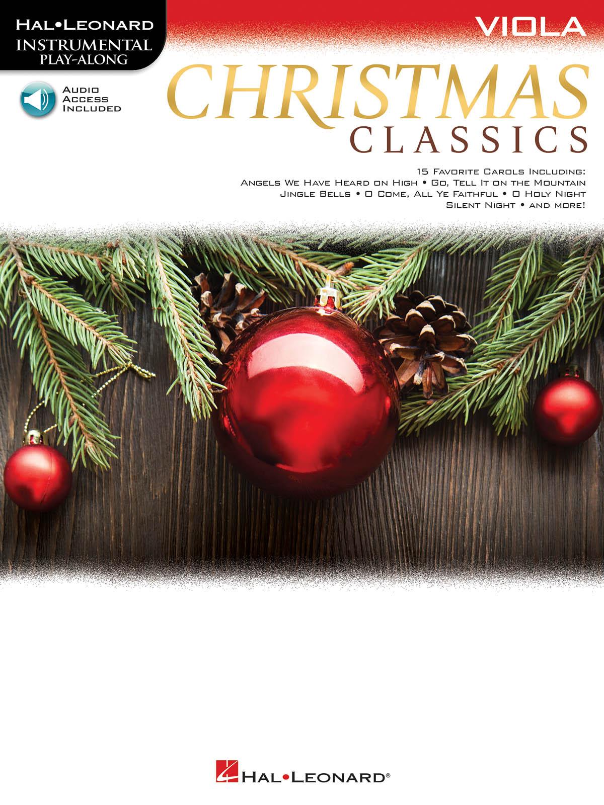Christmas Classics for Viola: Viola Solo: Instrumental Album
