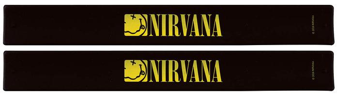 Nirvana Slap Band 2-Pack - Smiley Logo: Clothing