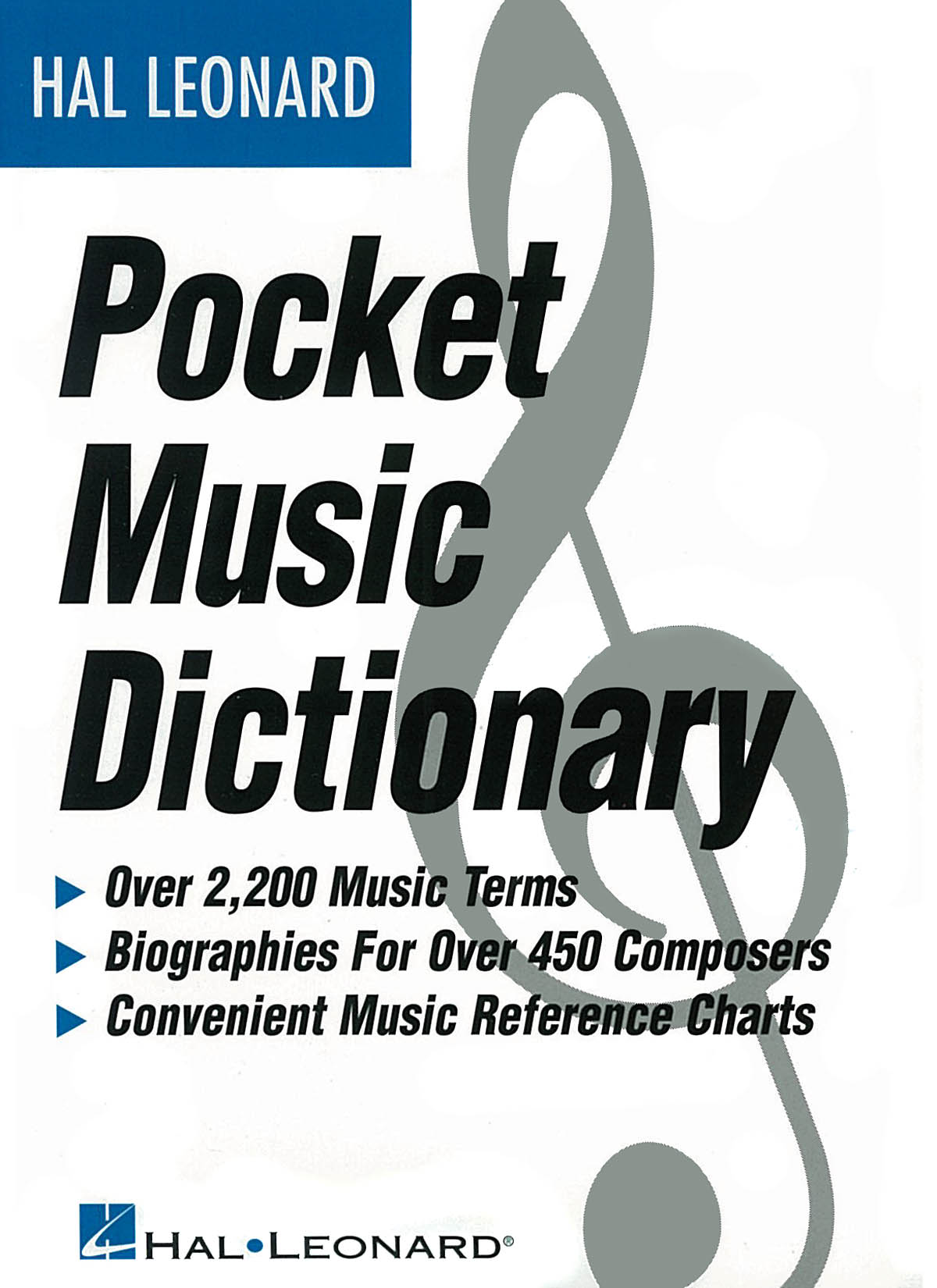 The Hal Leonard Pocket Music Dictionary: Reference Books: Reference