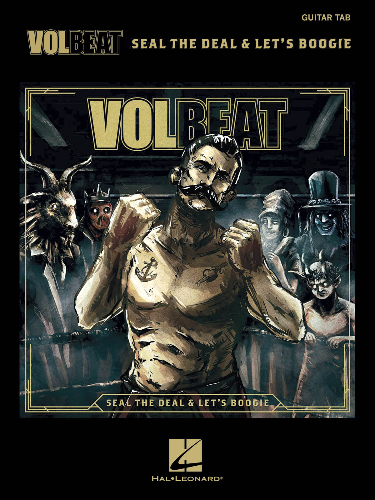 Volbeat - Seal The Deal & Let's Boogie: Guitar Solo: Album Songbook