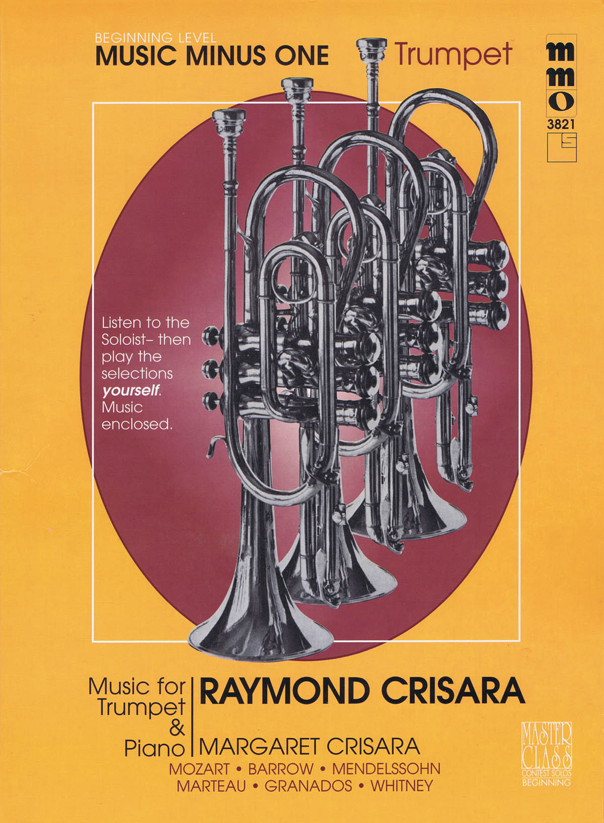 Raymond Crisara: Music for Trumpet and Piano: Trumpet and Piano: Instrumental Album