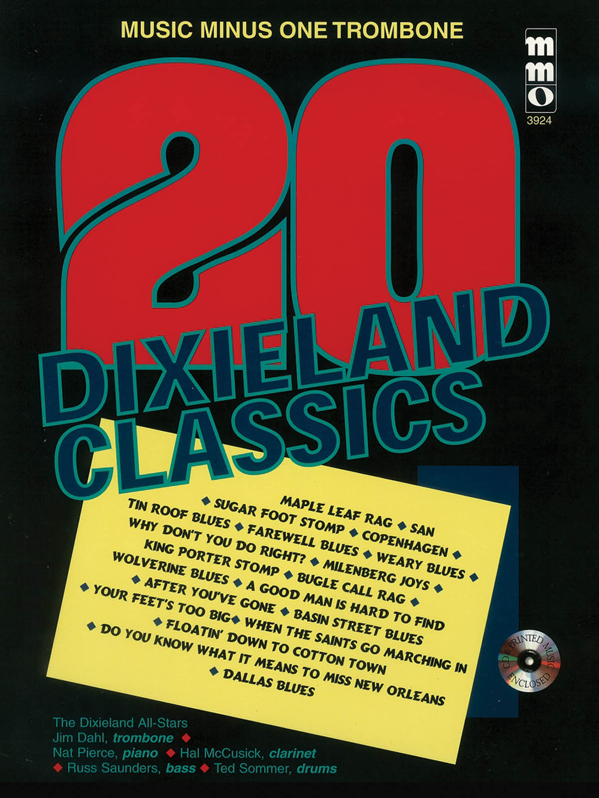 Twenty Dixieland Classics: Trombone Solo: Instrumental Album