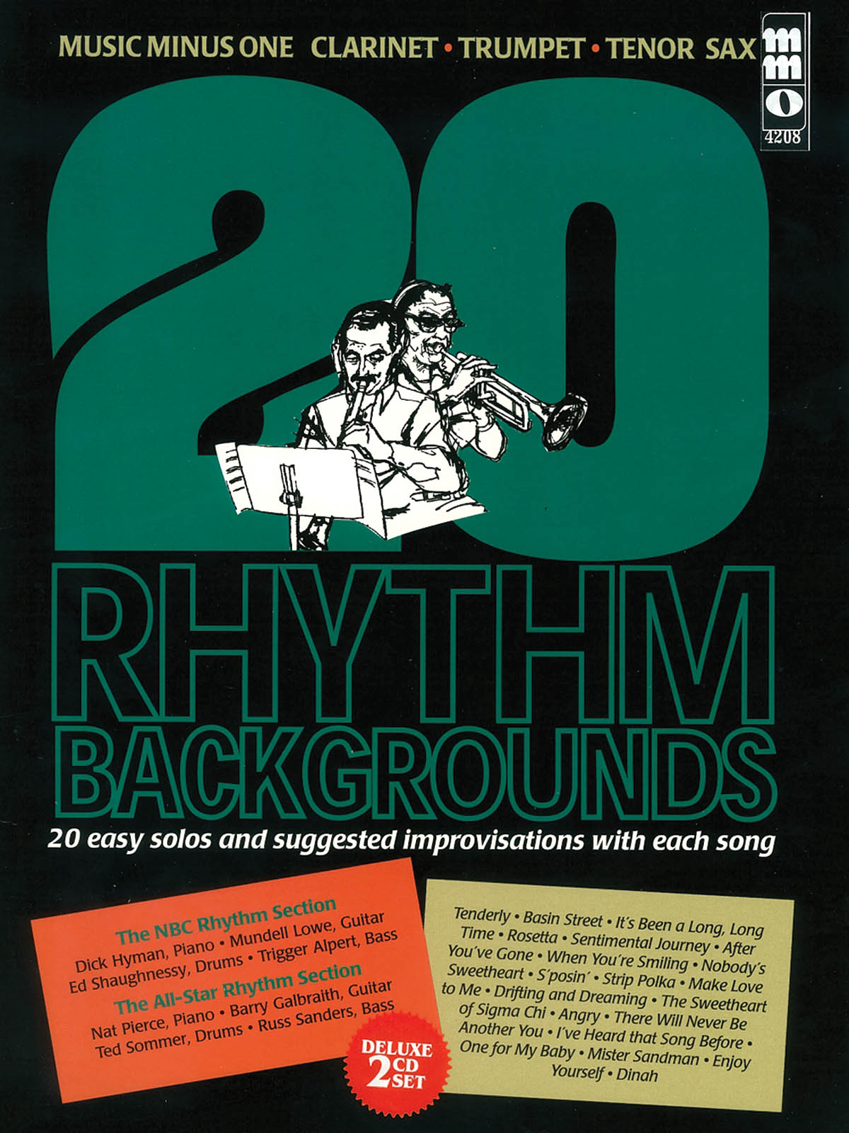 20 Rhythm Backgrounds to Easy Solos and Improvisat: B-Flat Instrument: