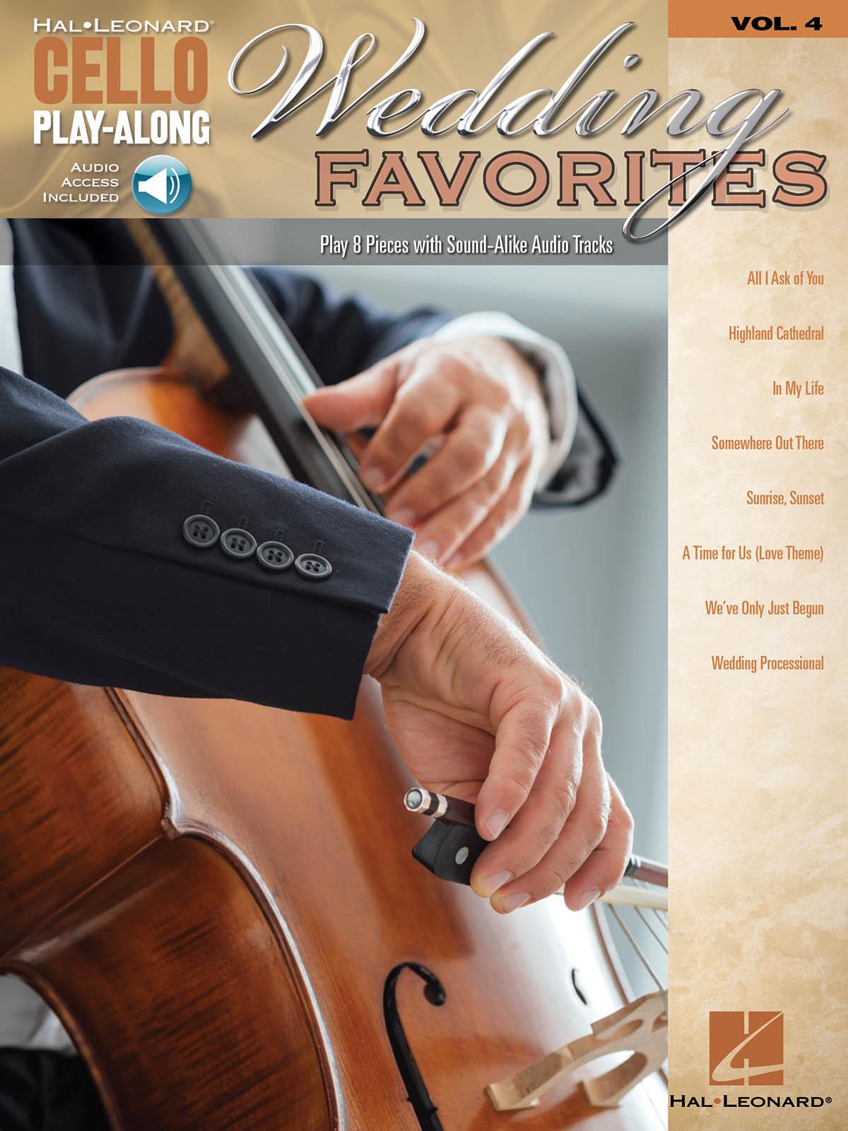 Wedding Favorites: Cello Solo: Mixed Songbook
