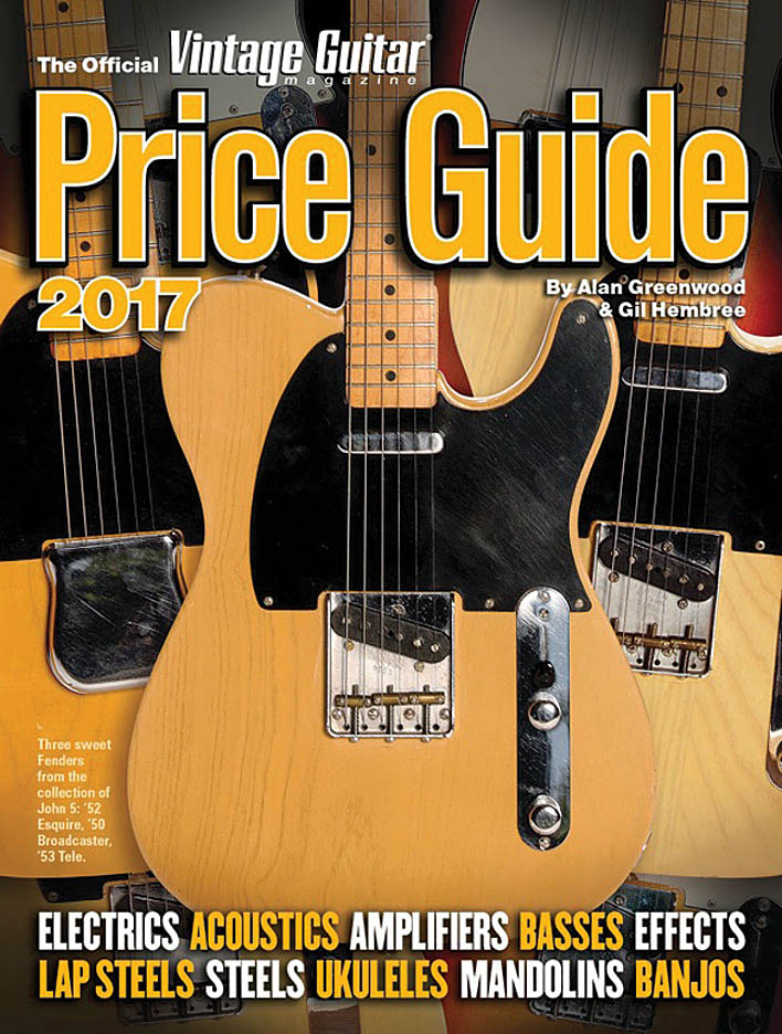 Official Vintage Guitar Magazine Price Guide 2017: Reference Books: Instrumental