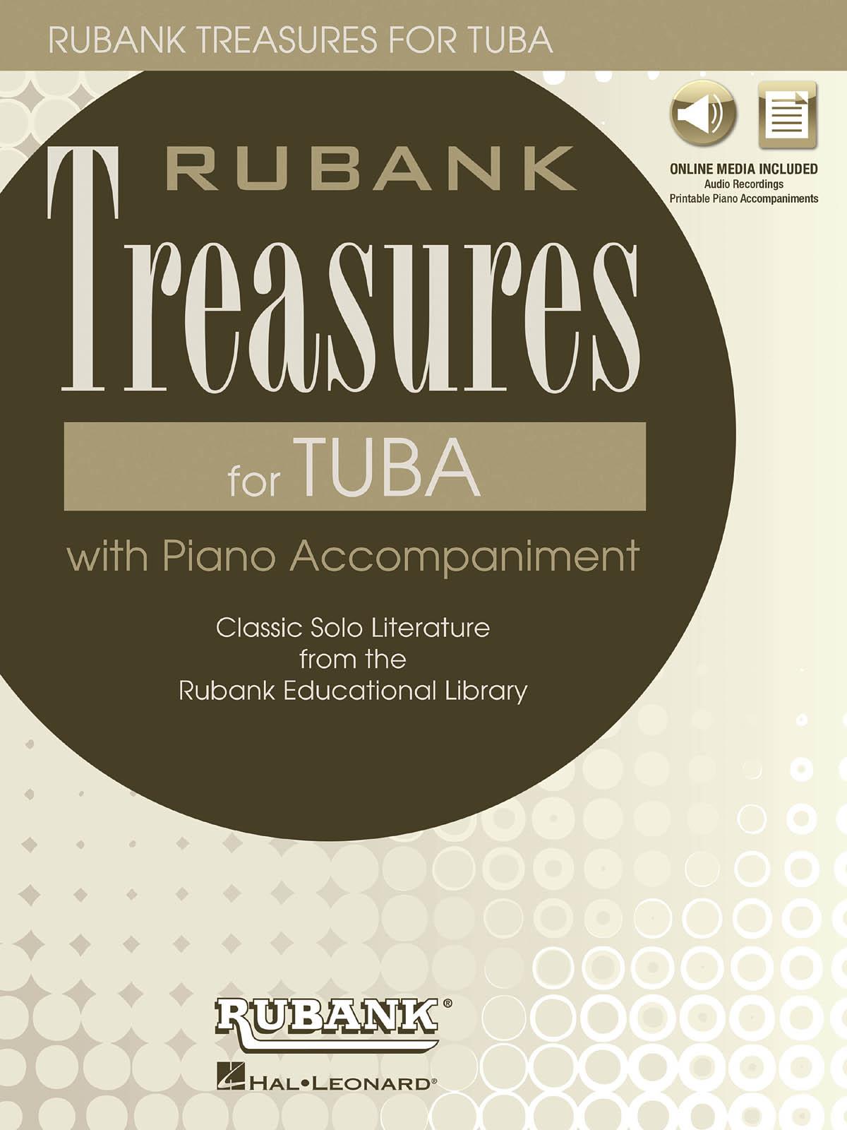 Rubank Treasures for Tuba: Tuba Solo: Instrumental Album