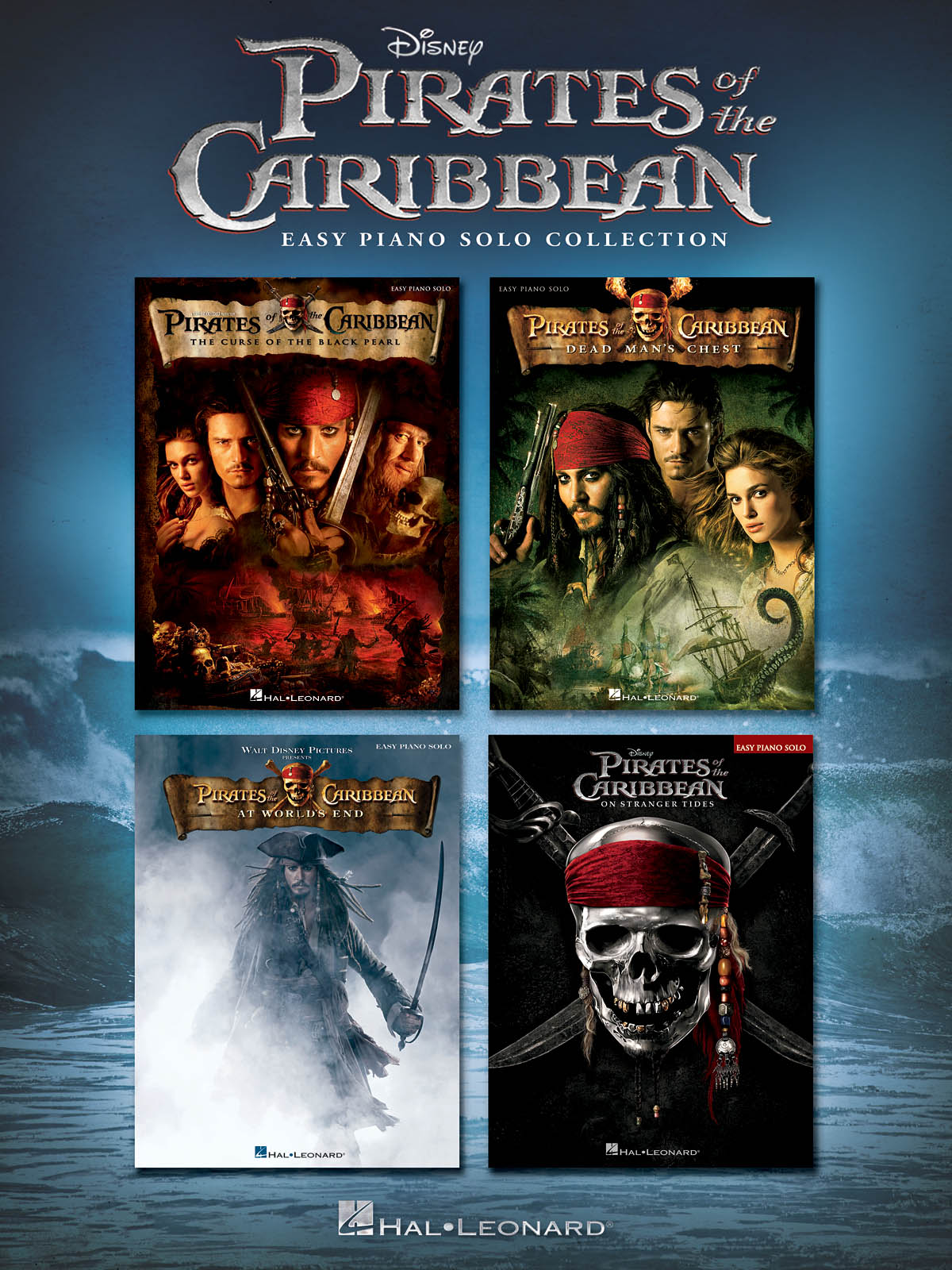 Pirates of the Caribbean: Easy Piano: Instrumental Album