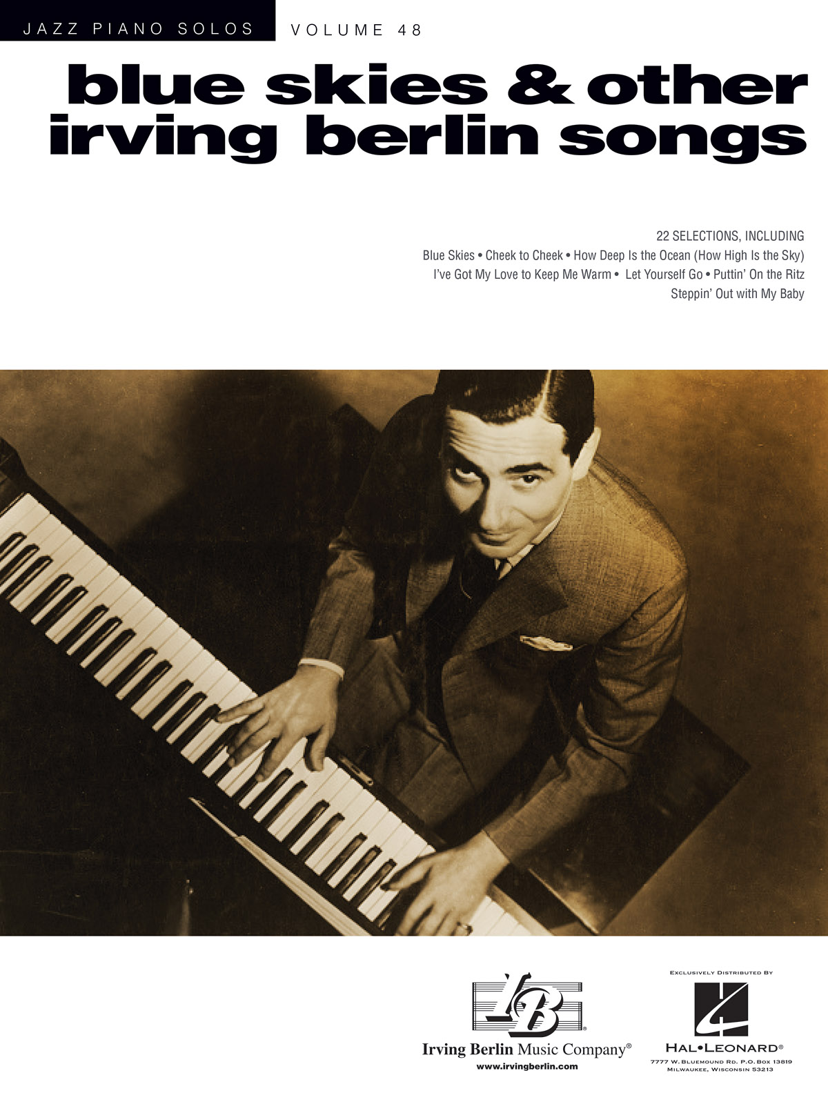 Blue Skies & Other Irving Berlin Songs: Piano: Artist Songbook