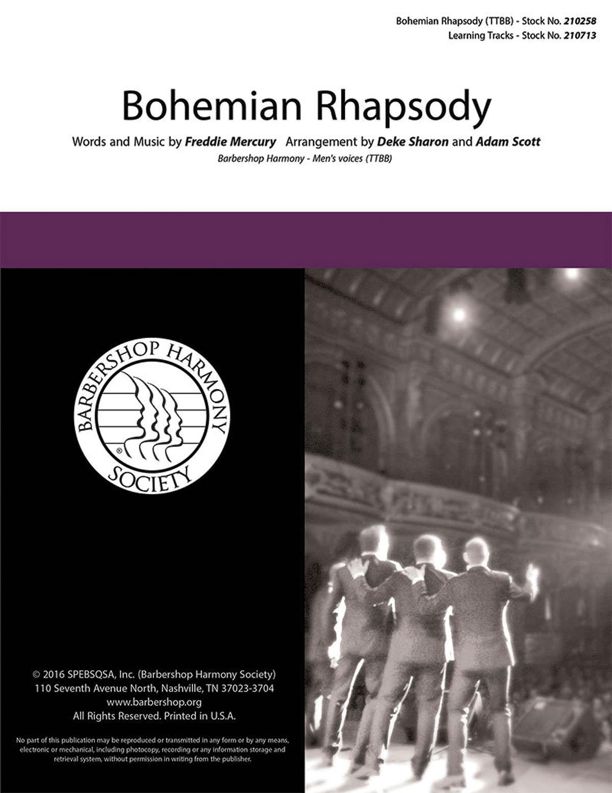 Queen: Bohemian Rhapsody: Lower Voices a Cappella: Vocal Score