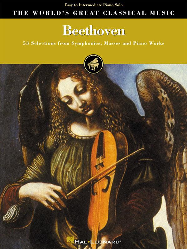 Ludwig van Beethoven: Beethoven - Easy/Intermediate Piano: Piano: Instrumental
