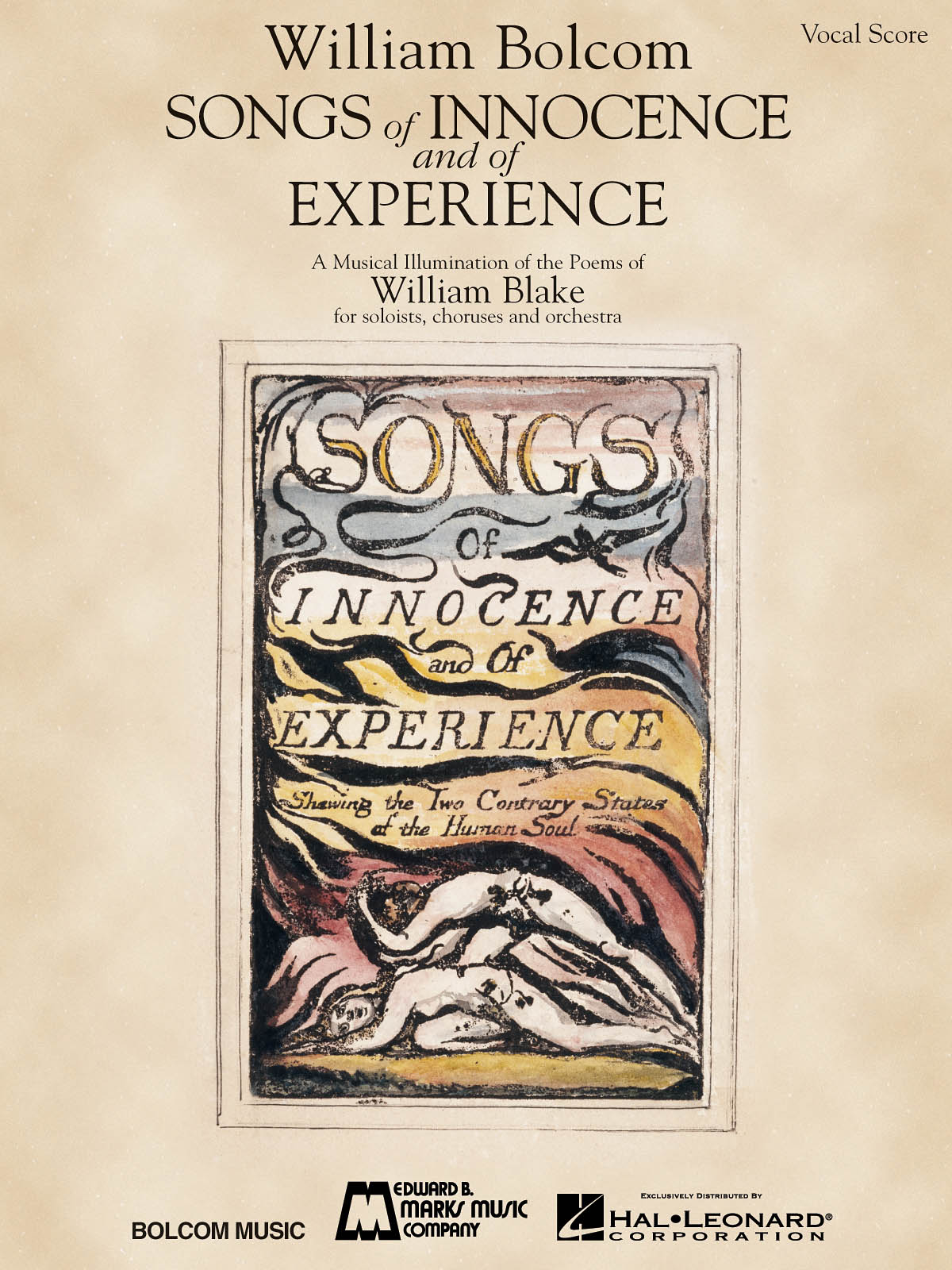 William Bolcom: Songs Of Innocence And Of Experience: Mixed Choir a Cappella: