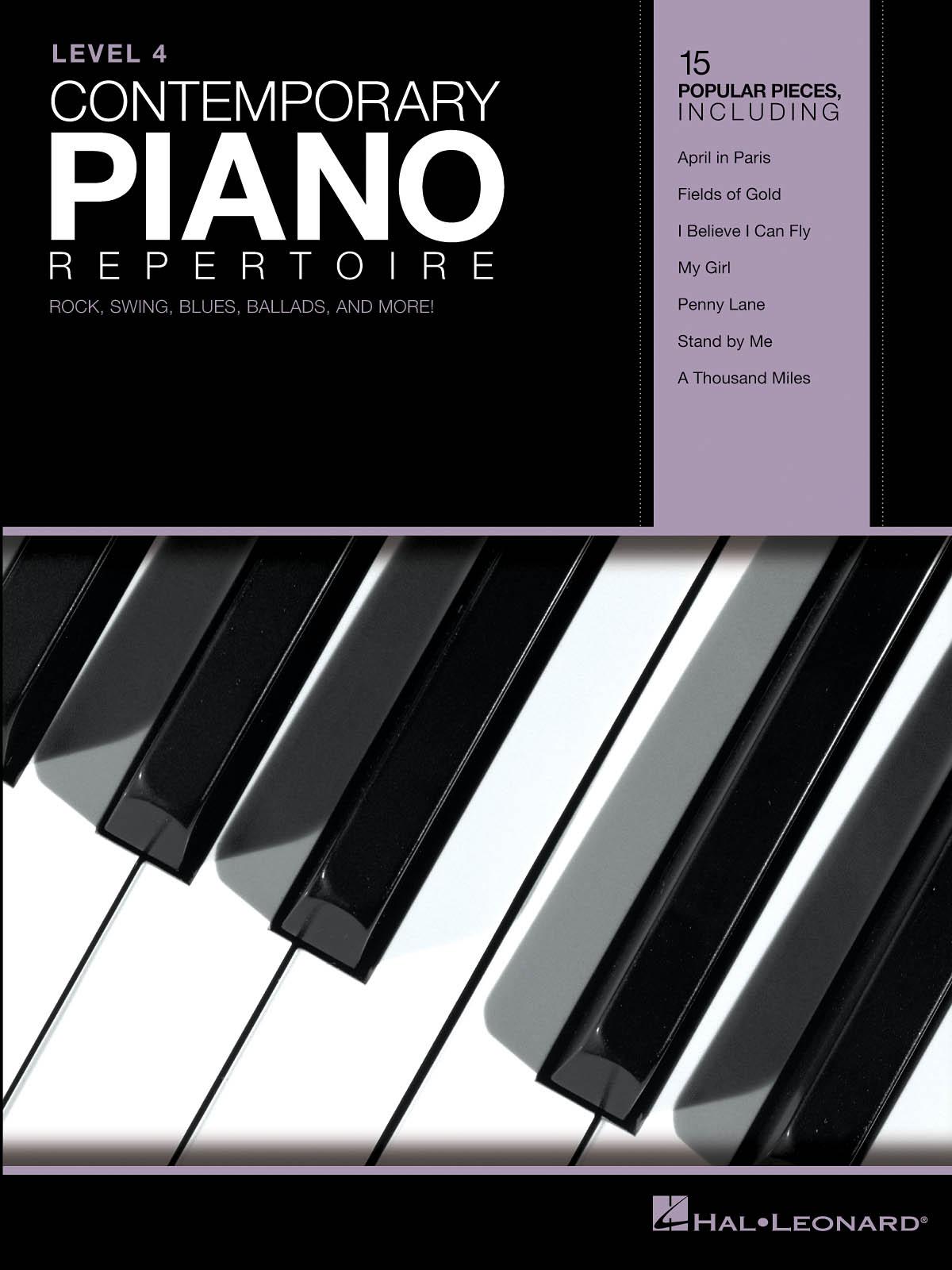 Contemporary Piano Repertoire - Level 4: Piano: Instrumental Album