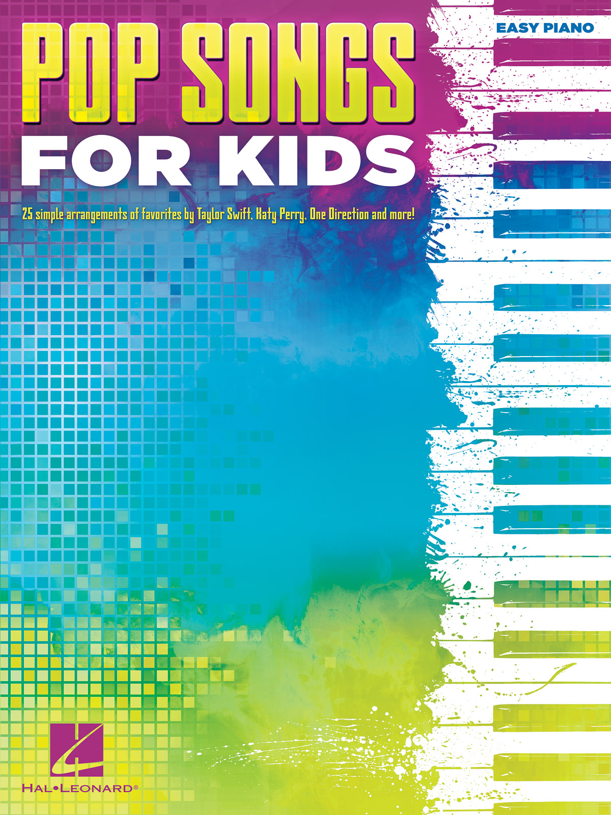 Pop Songs for Kids: Easy Piano: Instrumental Album