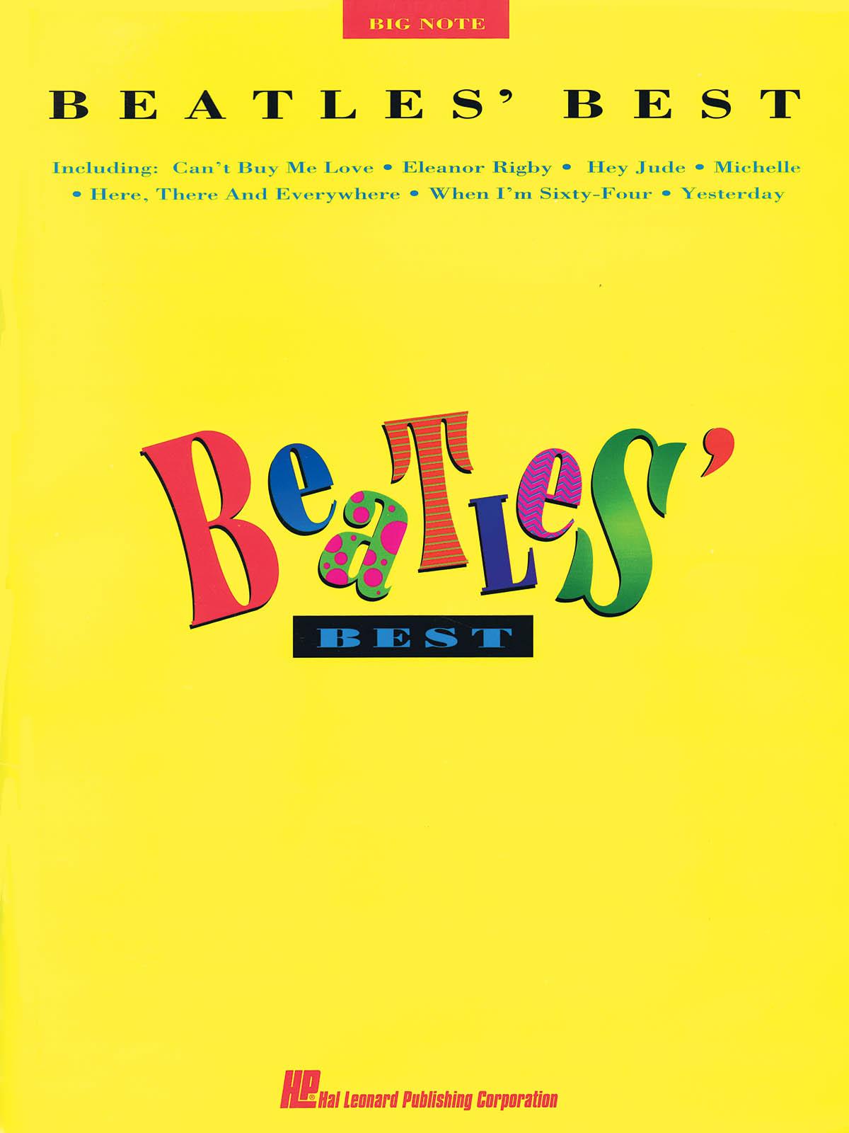 The Beatles: Beatles Best: Piano: Artist Songbook