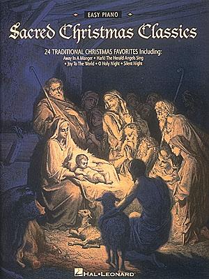 Sacred Christmas Classics: Easy Piano: Instrumental Album