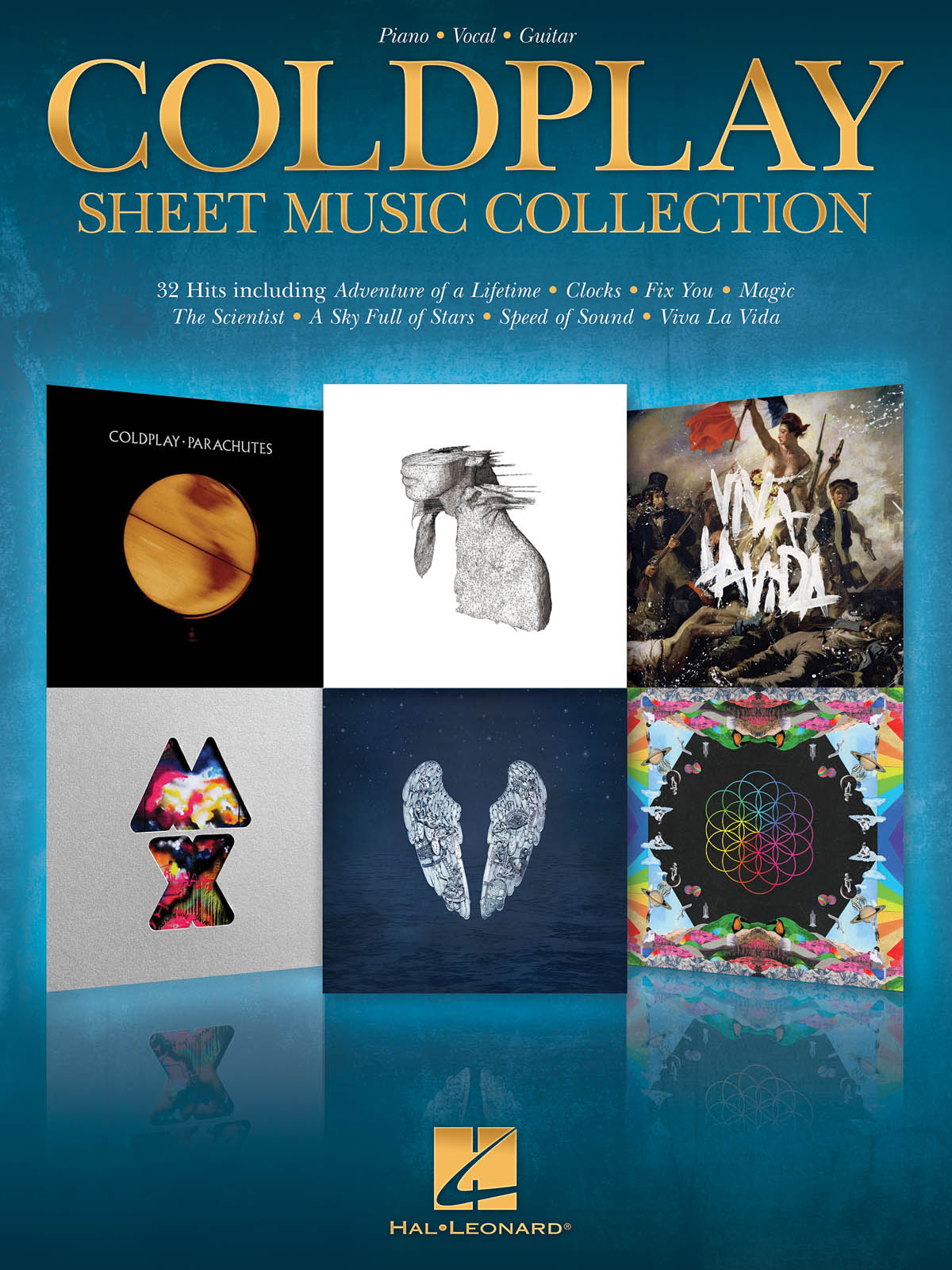 Coldplay Sheet Music Collection: Piano  Vocal and Guitar: Mixed Songbook