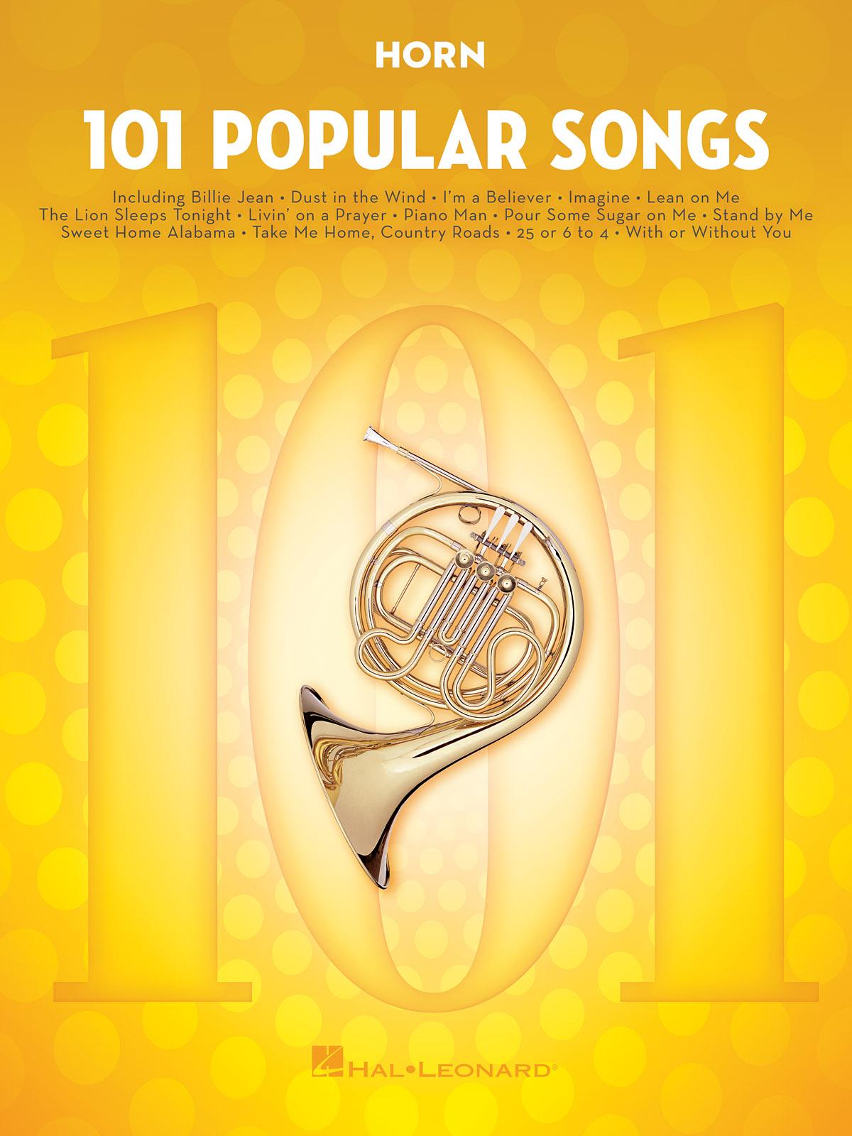 101 Popular Songs: French Horn Solo: Instrumental Album