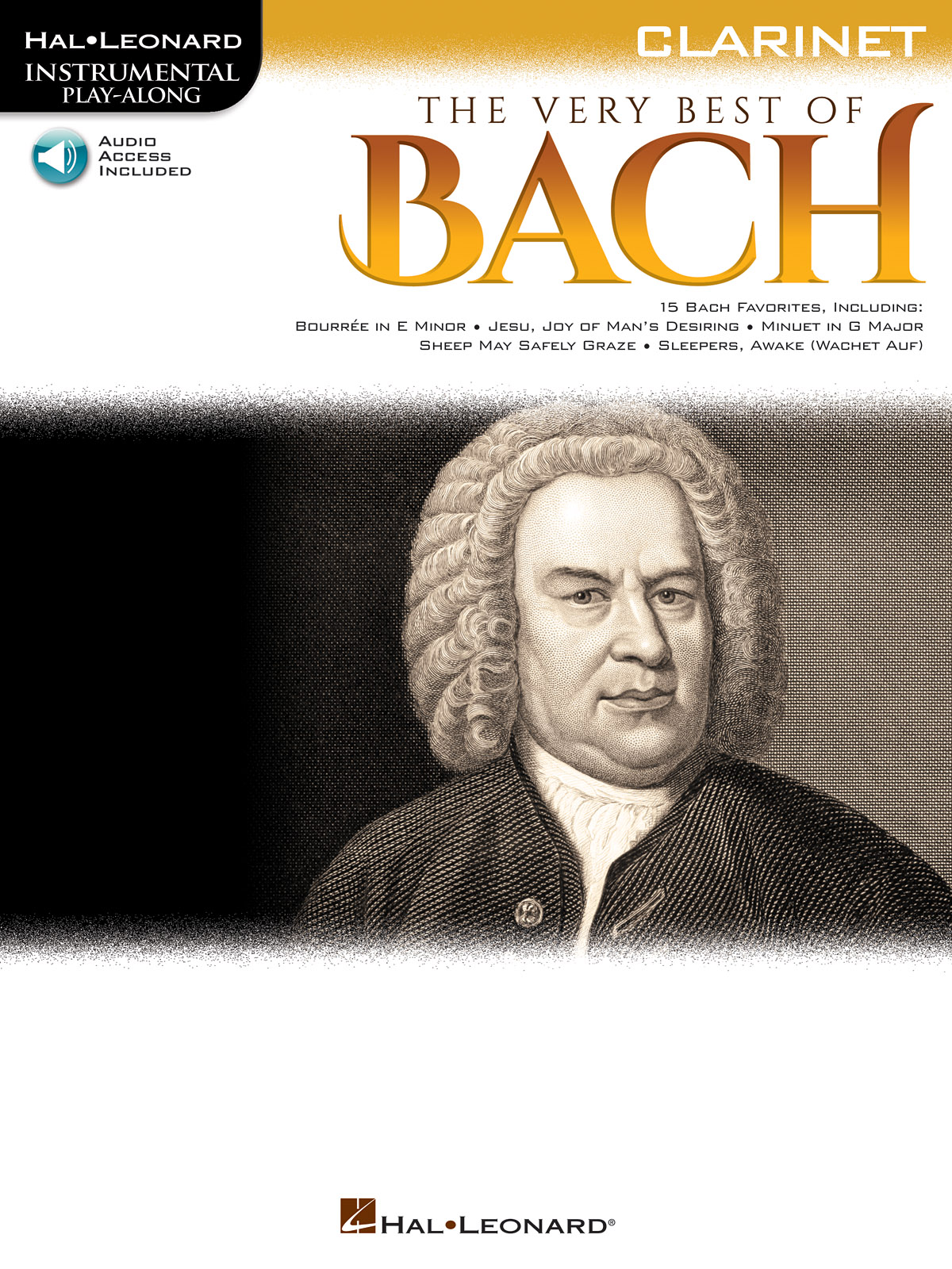 The Very Best of Bach - Clarinet: Clarinet Solo: Instrumental Album