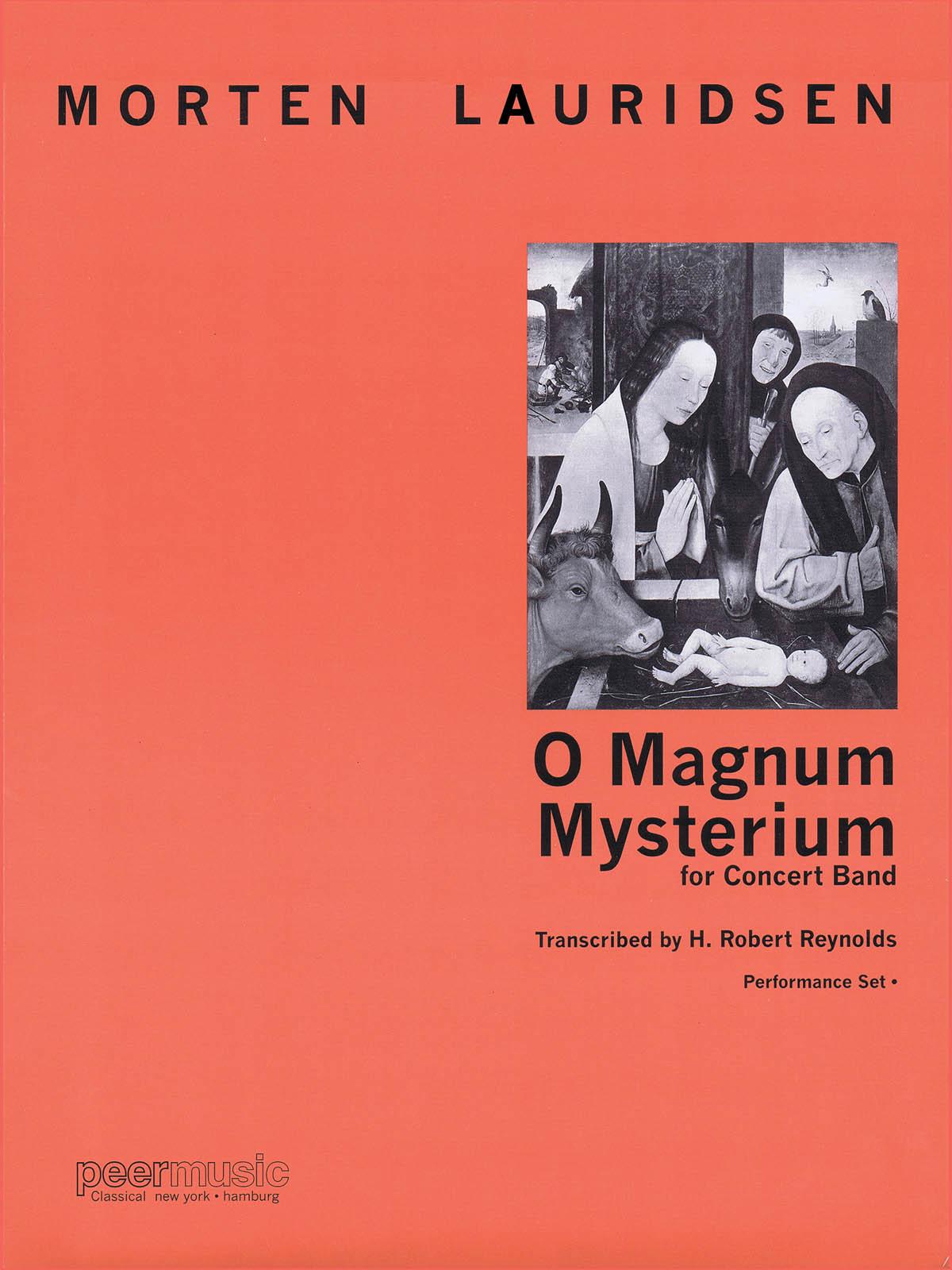 Morten Lauridsen: O Magnum Mysterium: Concert Band: Score and Parts