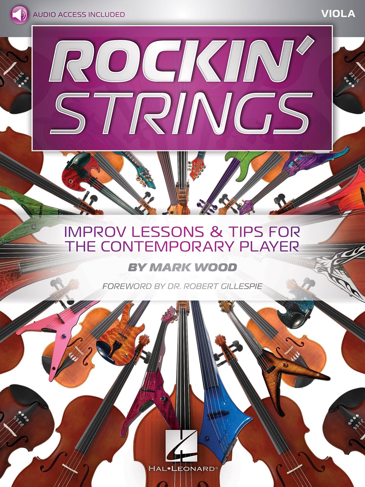 Mark Wood Robert Gillespie: Rockin' Strings: Viola: Viola: Instrumental Tutor