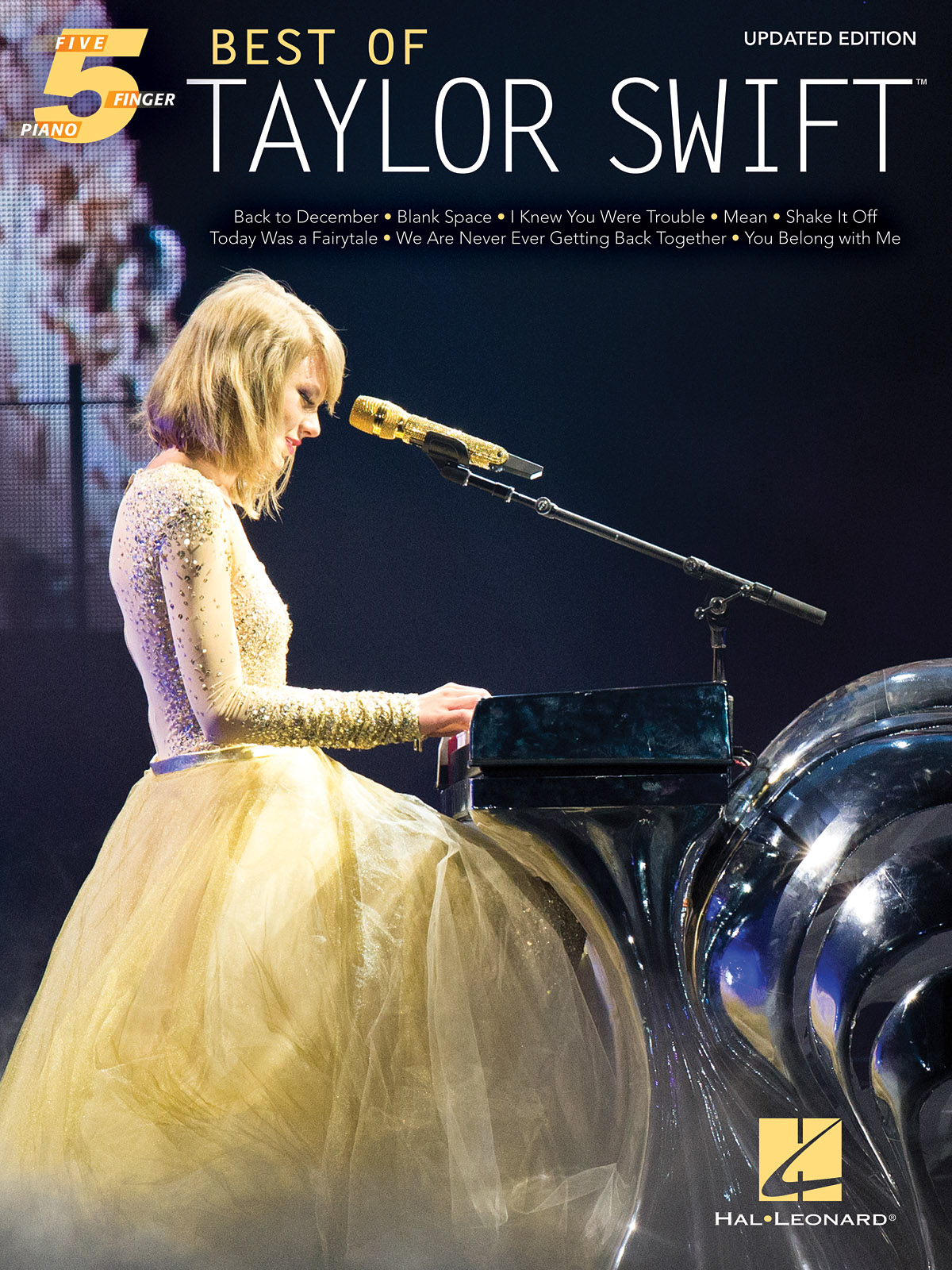 Best of Taylor Swift – Updated Edition: Piano: Artist Songbook