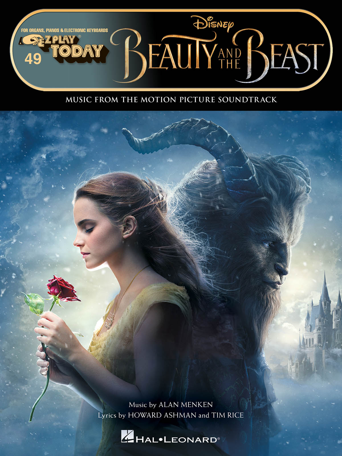 Alan Menken: Beauty and the Beast: E-Z Play Today: Piano Solo: Album Songbook