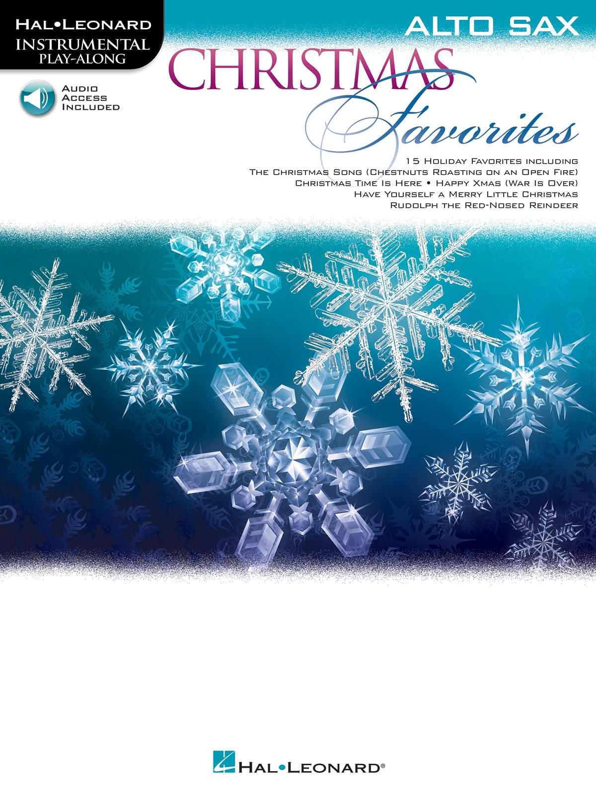 Christmas Favorites: Alto Saxophone: Instrumental Album