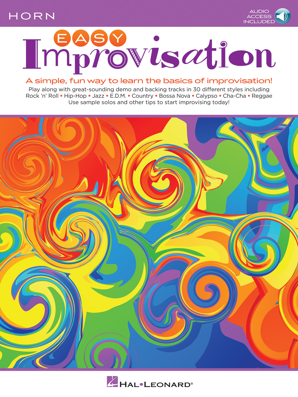 Easy Improvisation (Horn): French Horn Solo: Instrumental Album