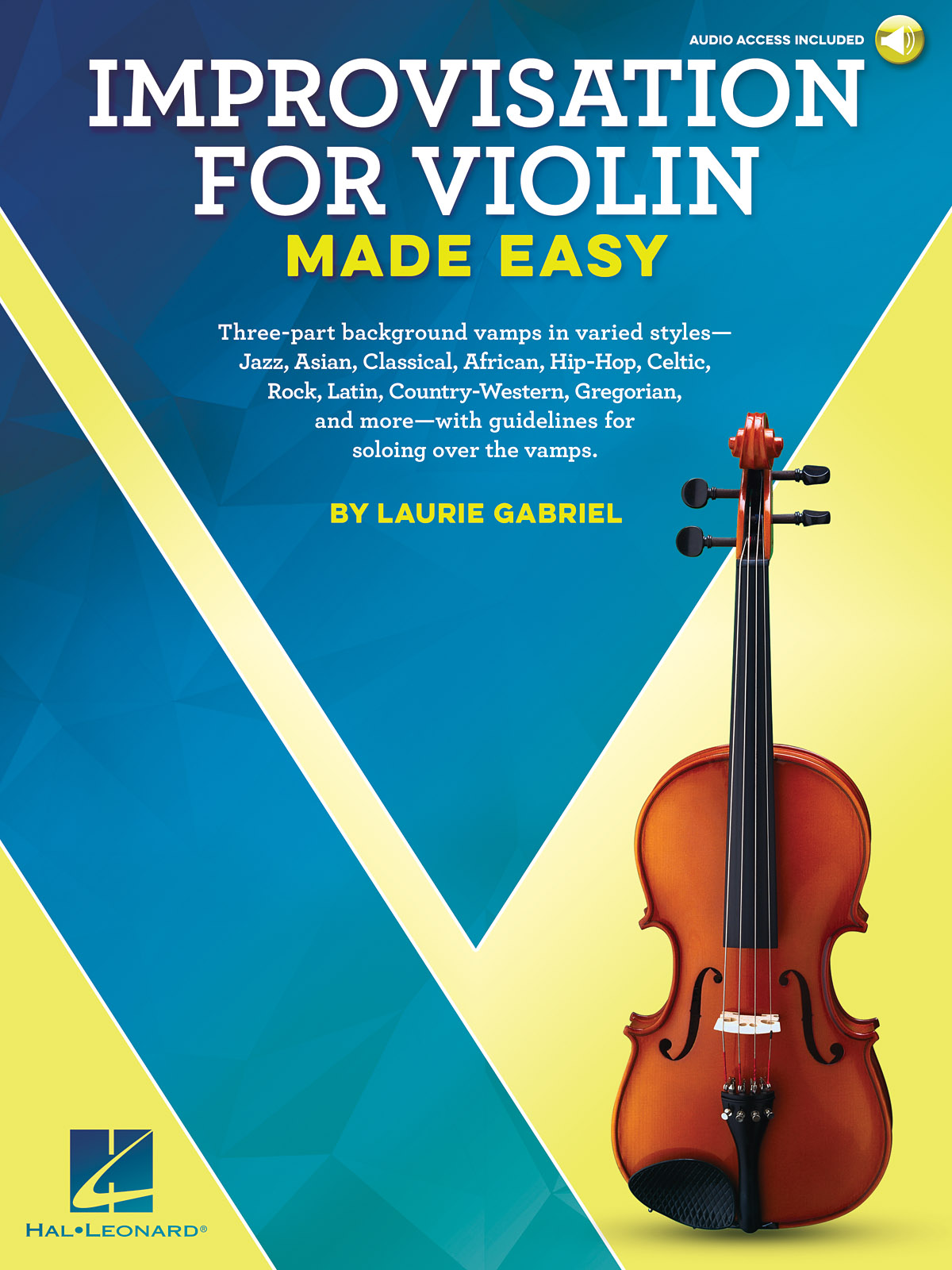 Laurie Gabriel: Improvisation for Violin Made Easy: Violin Solo: Instrumental