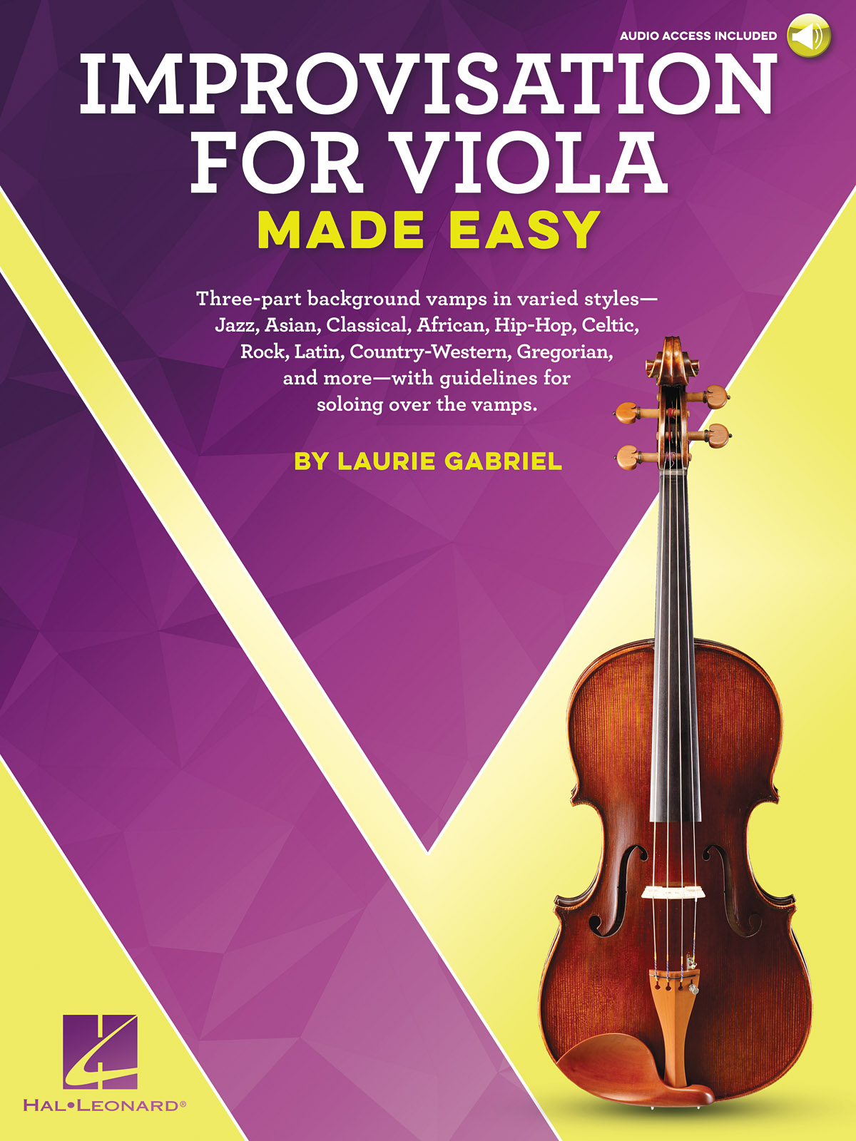 Laurie Gabriel: Improvisation for Viola Made Easy: Viola Solo: Instrumental