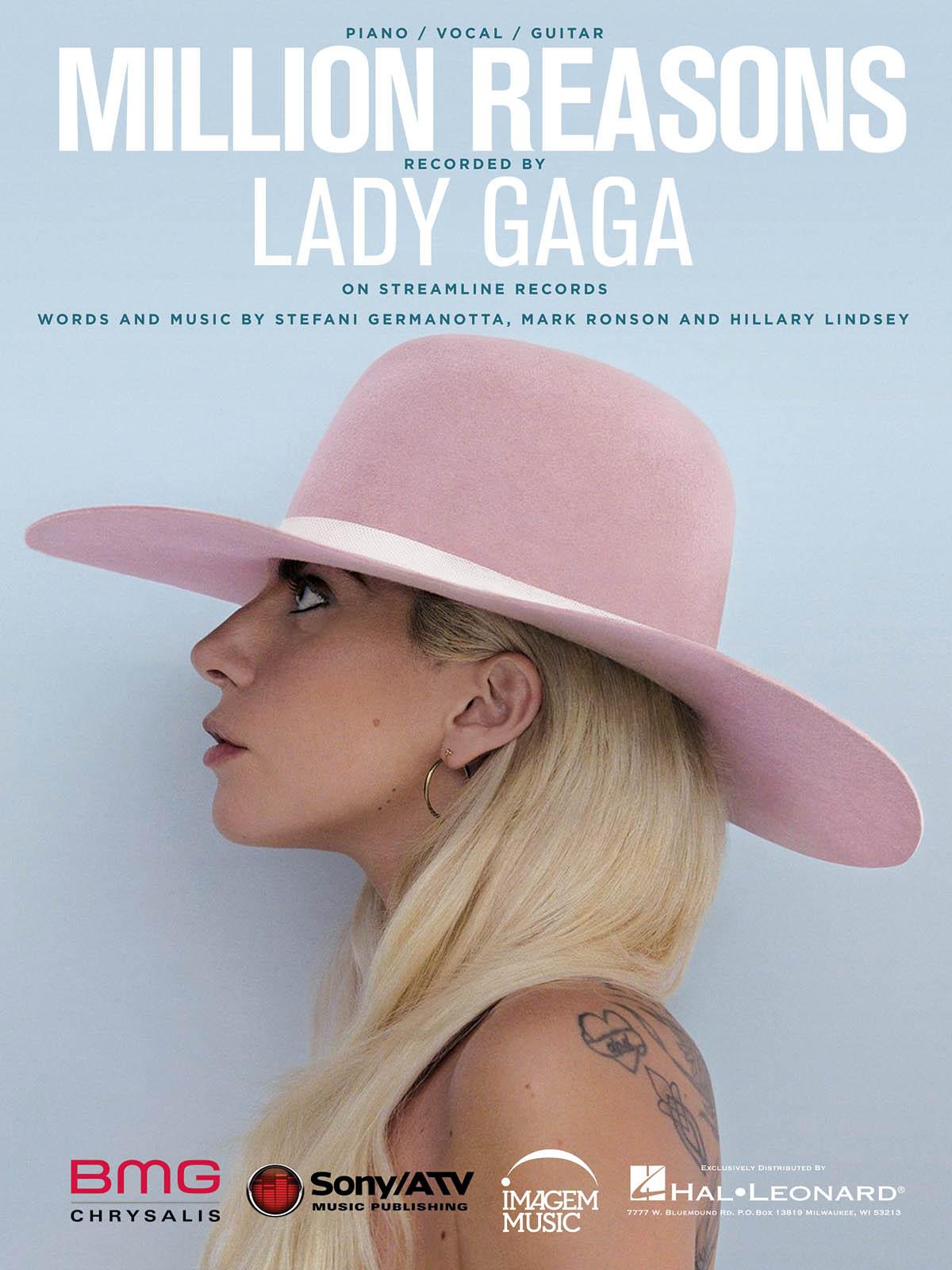 Lady Gaga: Million Reasons: Vocal and Piano: Mixed Songbook