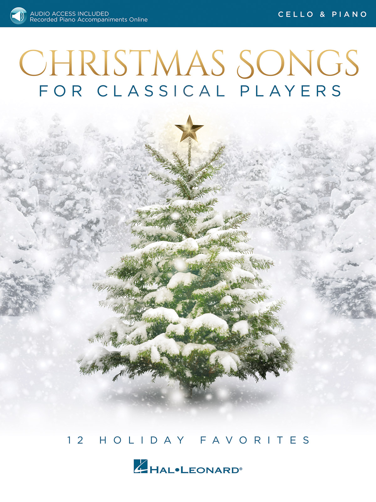 Christmas Songs For Classical Players: Cello and Accomp.: Instrumental Album