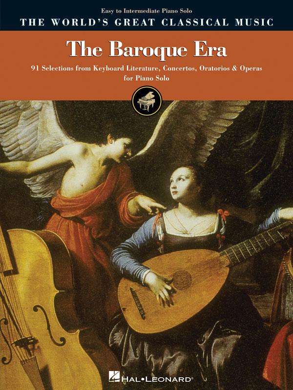 The Baroque Era - Easy To Intermediate Piano: Piano: Vocal Album