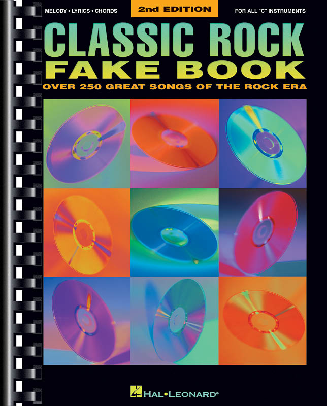 Classic Rock Fake Book - 2Nd Edition: Piano: Instrumental Album