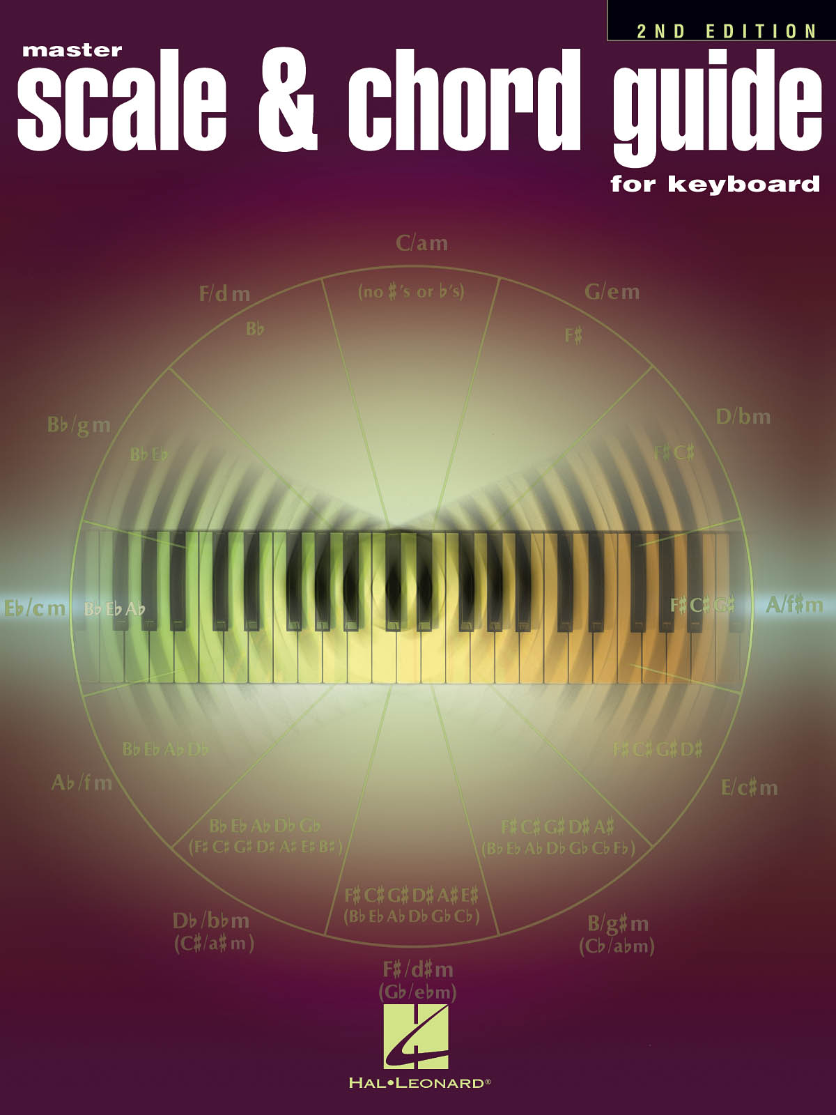 Master Scale And Chord Guide For Keyboard: Keyboard: Instrumental Reference