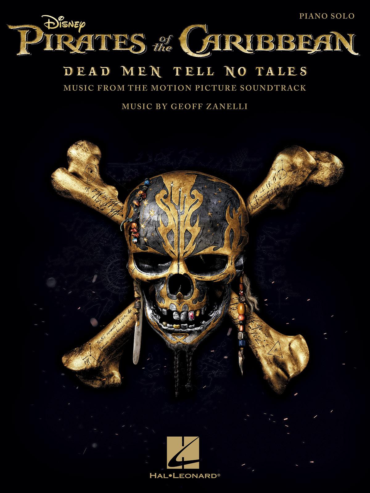 Geoff Zanelli: Pirates Of The Caribbean - Dead Men Tell No Tales: Piano: