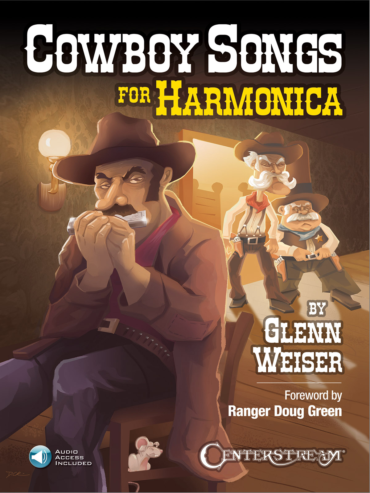 Glenn Weiser: Cowboy Songs For Harmonica: Harmonica: Instrumental Work