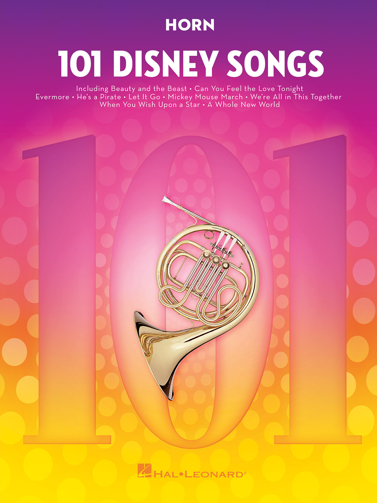 101 Disney Songs: French Horn Solo: Instrumental Album