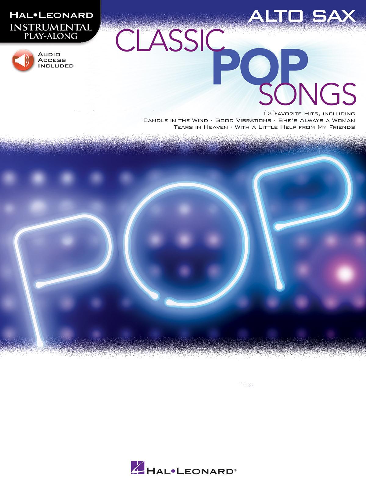 Classic Pop Songs: Alto Saxophone: Instrumental Album