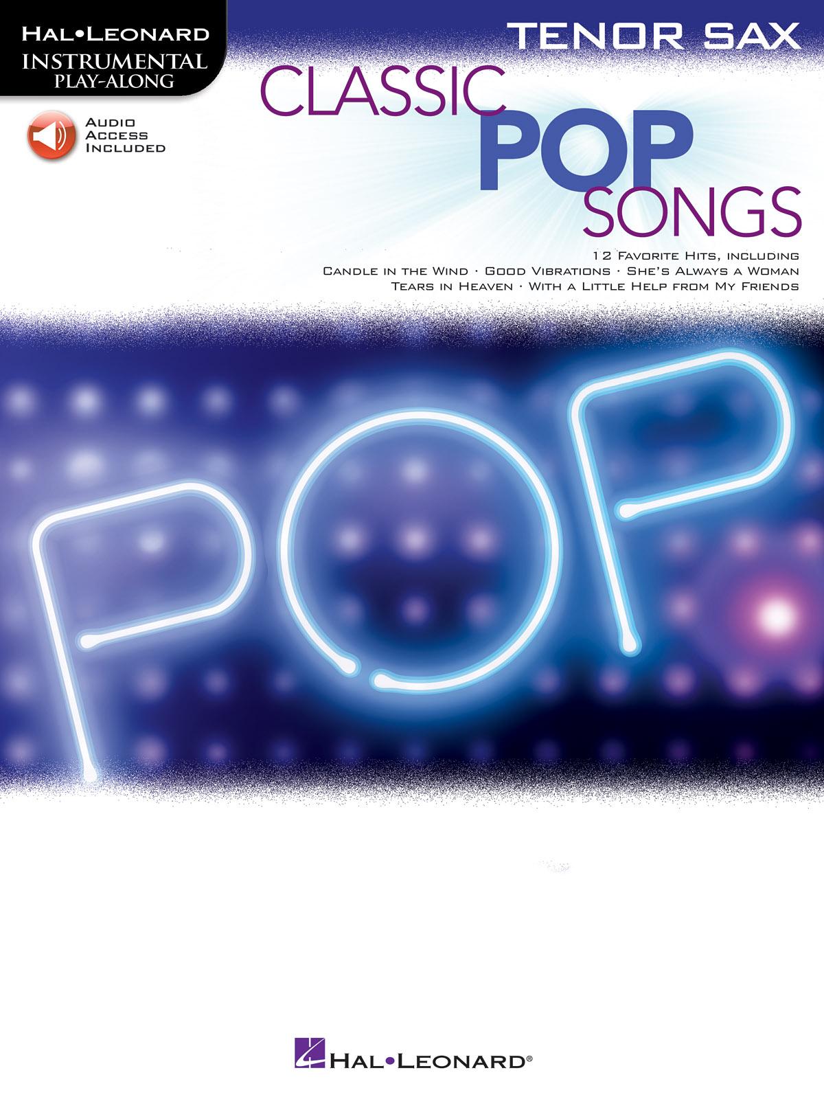 Classic Pop Songs: Tenor Saxophone: Instrumental Album
