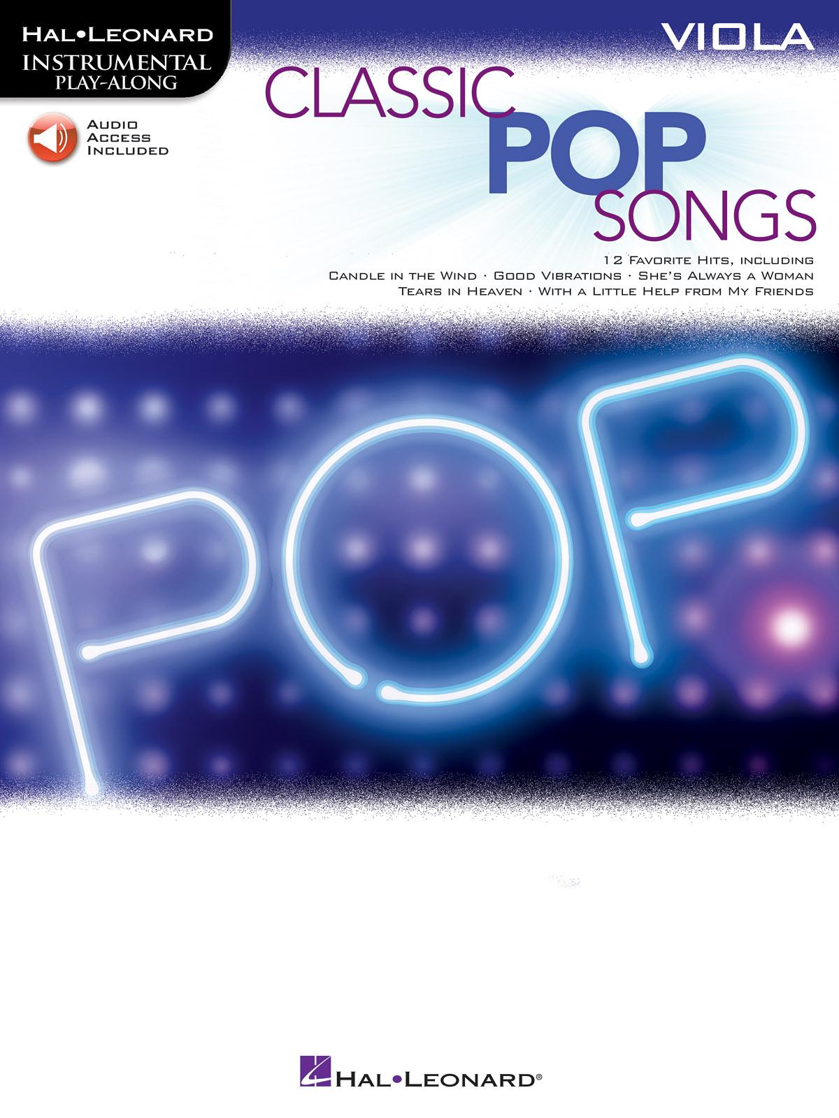Classic Pop Songs: Viola Solo: Instrumental Album