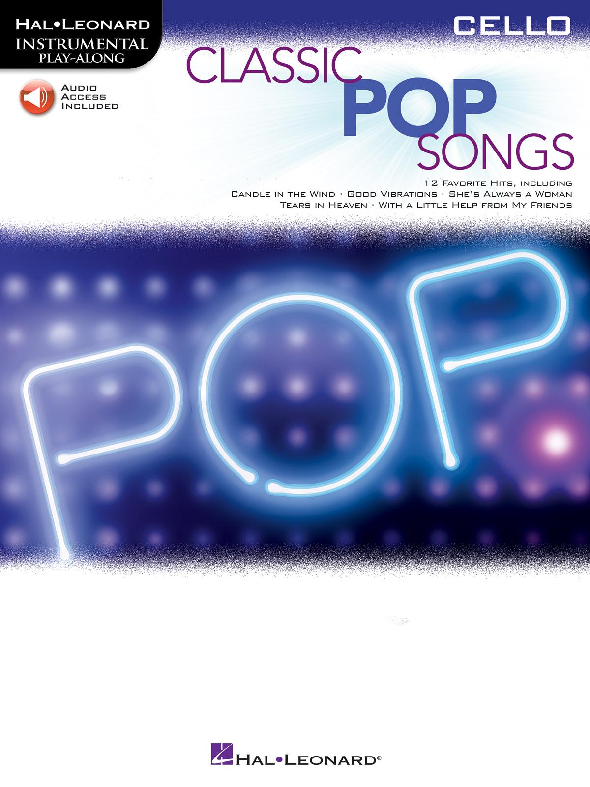 Classic Pop Songs: Cello Solo: Instrumental Album
