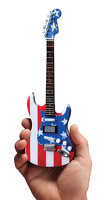 Fender Stratocaster - Stars & Stripes USA - Kramer: Ornament