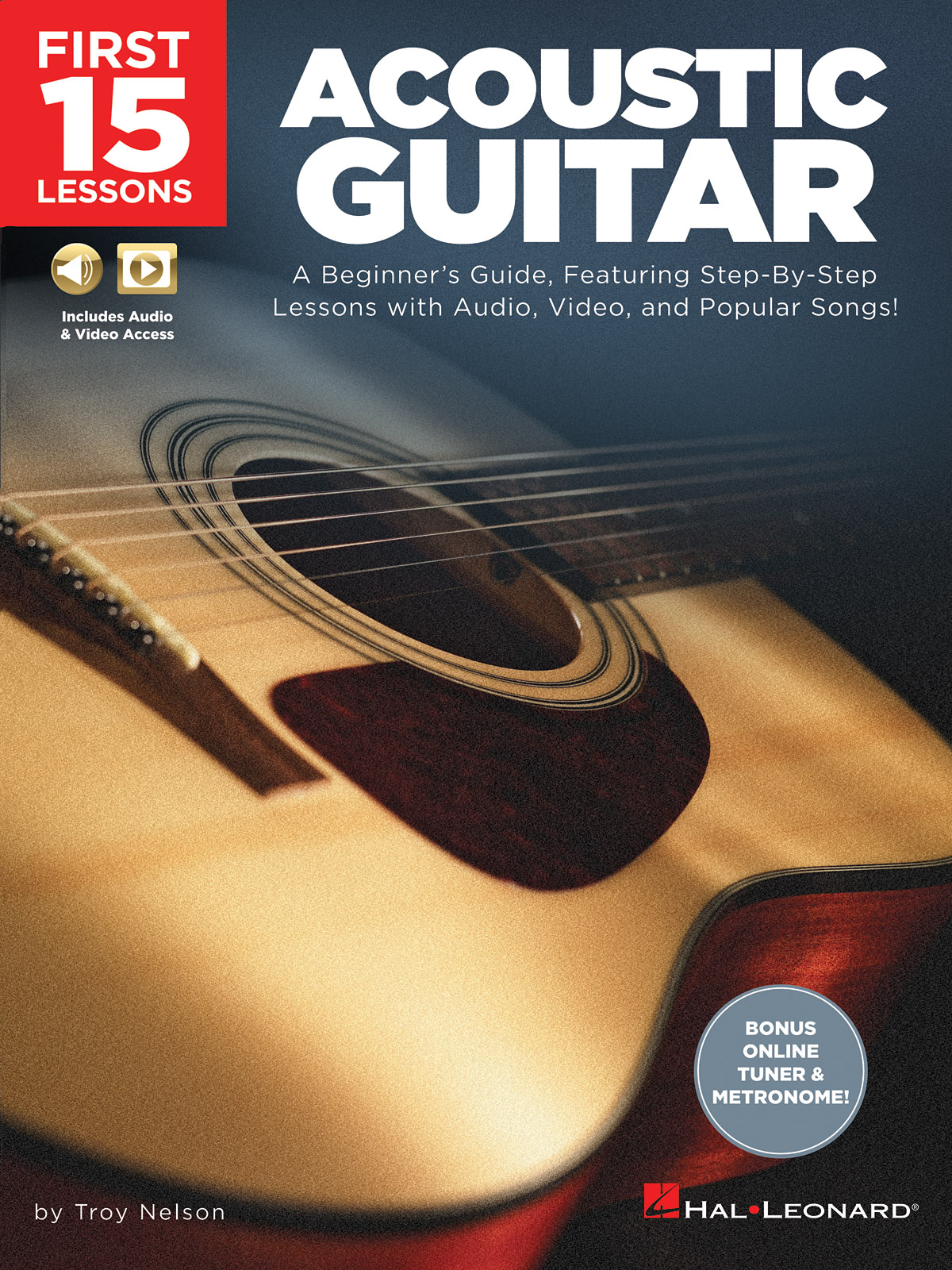 Troy Nelson: First 15 Lessons - Acoustic Guitar: Guitar Solo: Instrumental Tutor