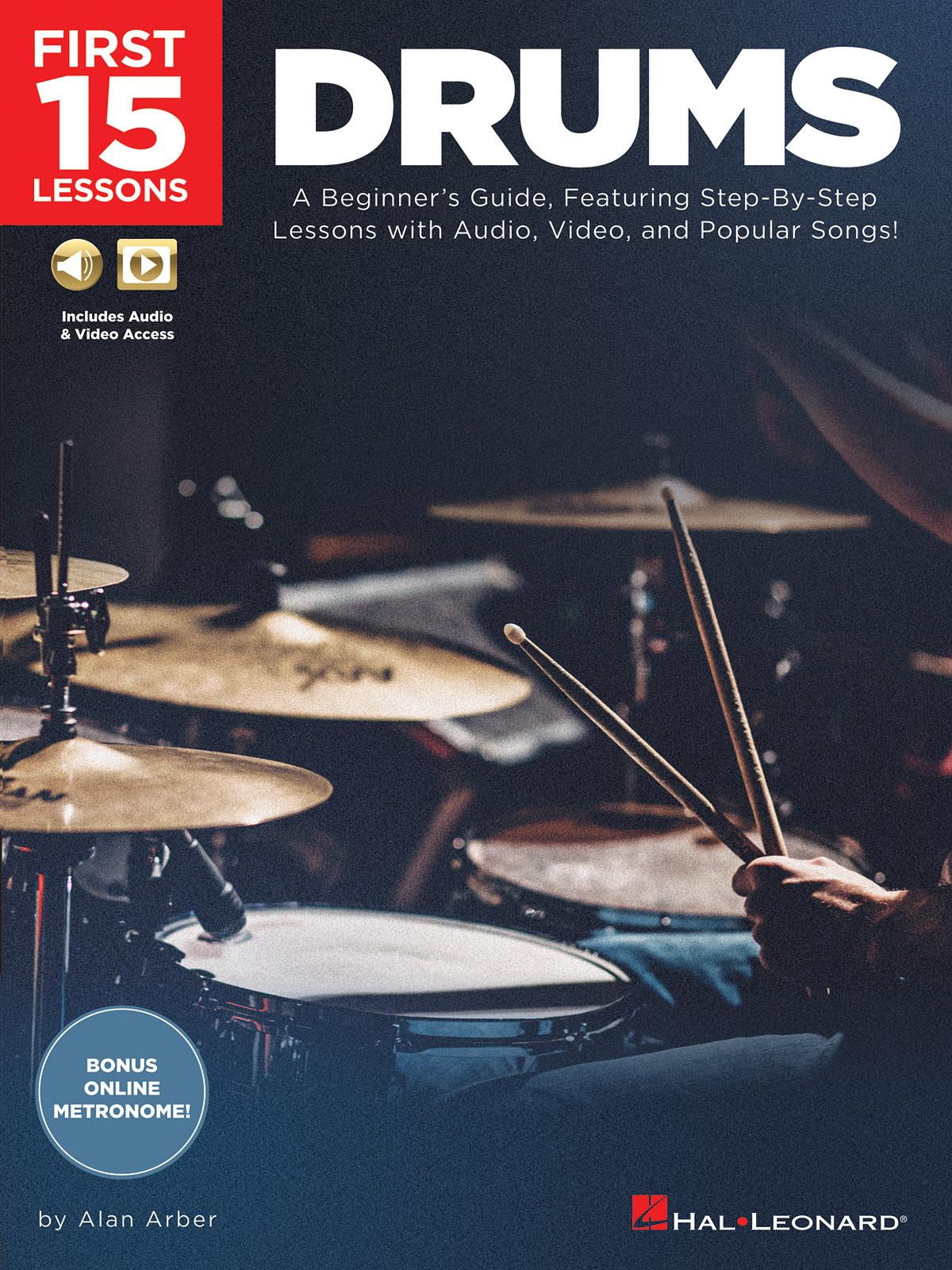 Alan Arber: First 15 Lessons - Drums: Drums: Instrumental Album